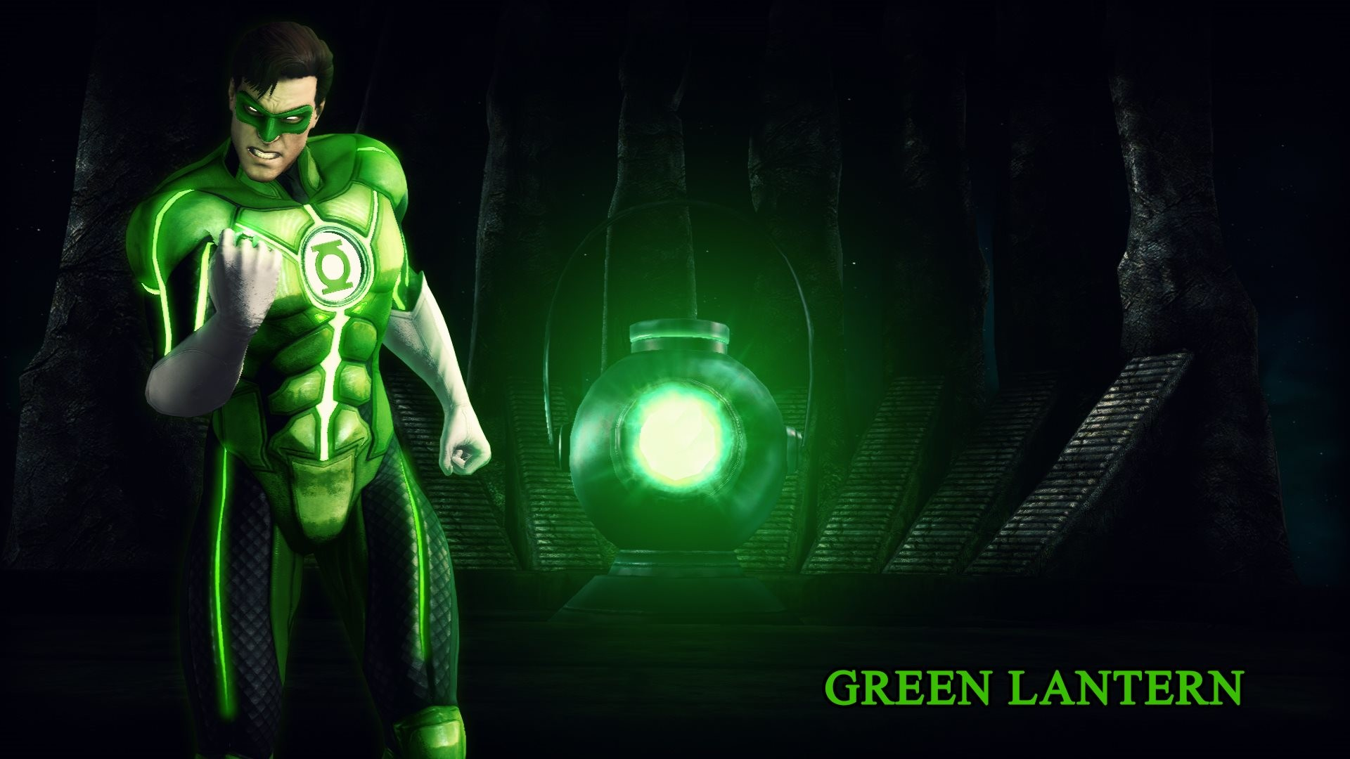In the 3rd wallpaper is Green Lantern from Injustice – Gods Among Us