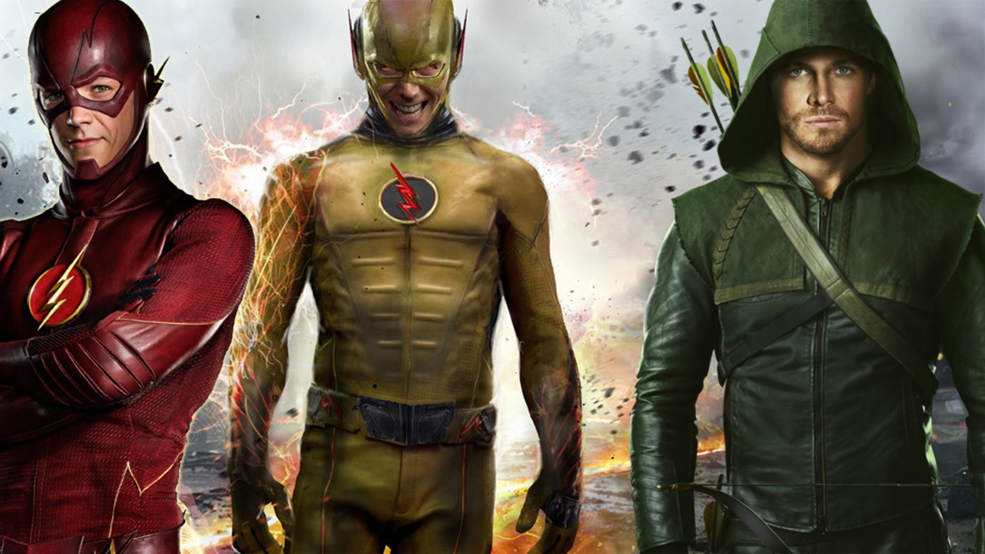 THE FLASH Preview Gallery: 'Flash Vs. Arrow' Pretty Much Says …