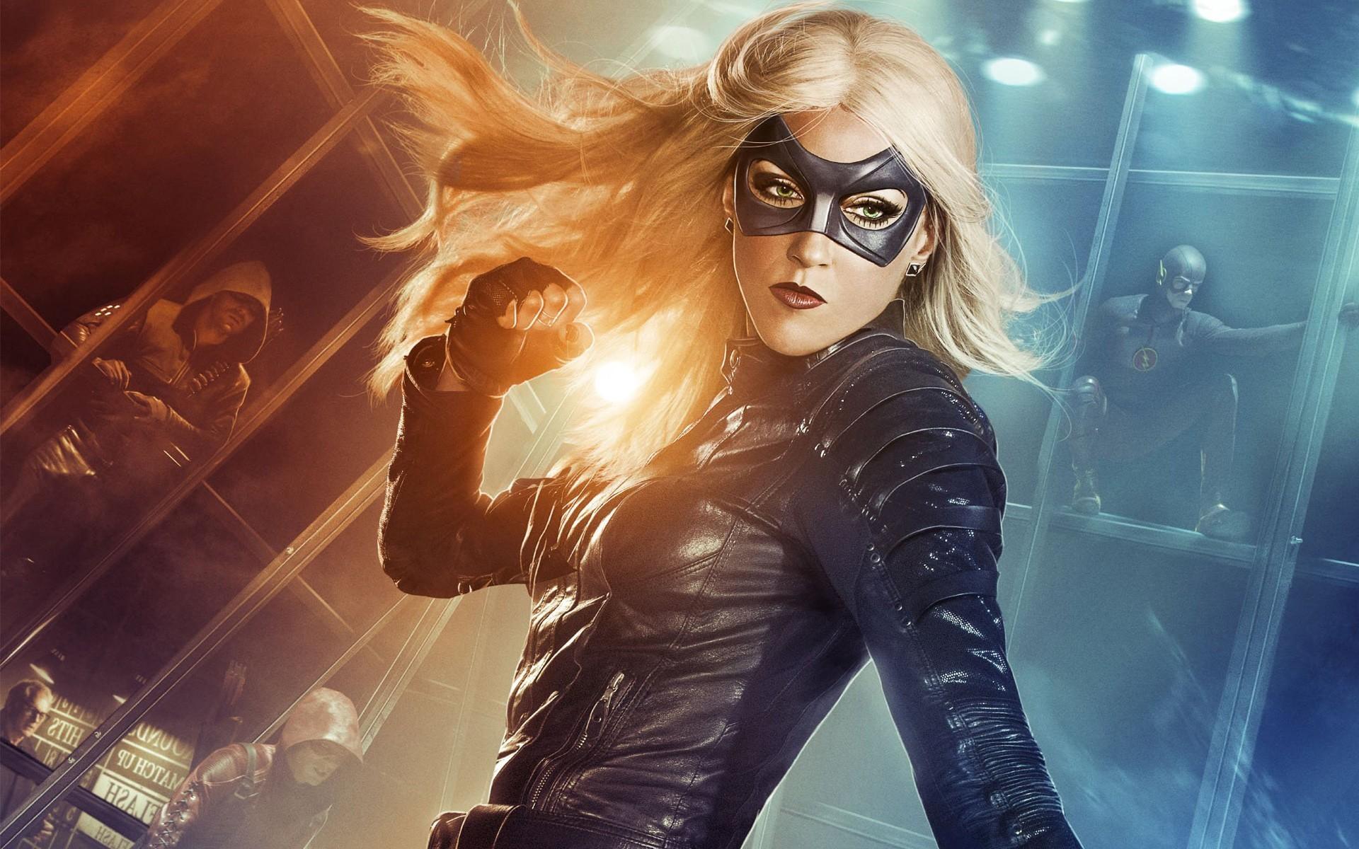 General Black Canary Green Arrow DC Comics 3D superhero Flash Red  Arrow Dr. Martin