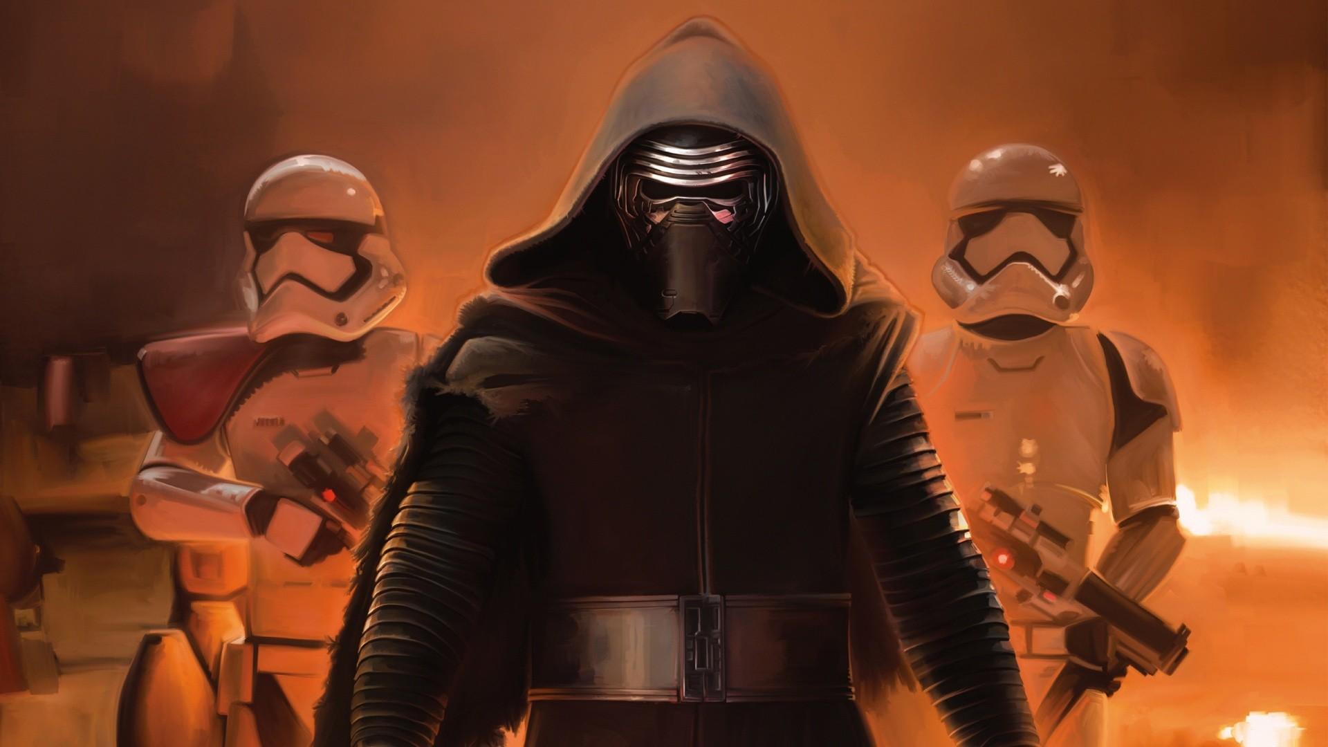 Star Wars The Force Awakens Kylo Ren Wallpapers