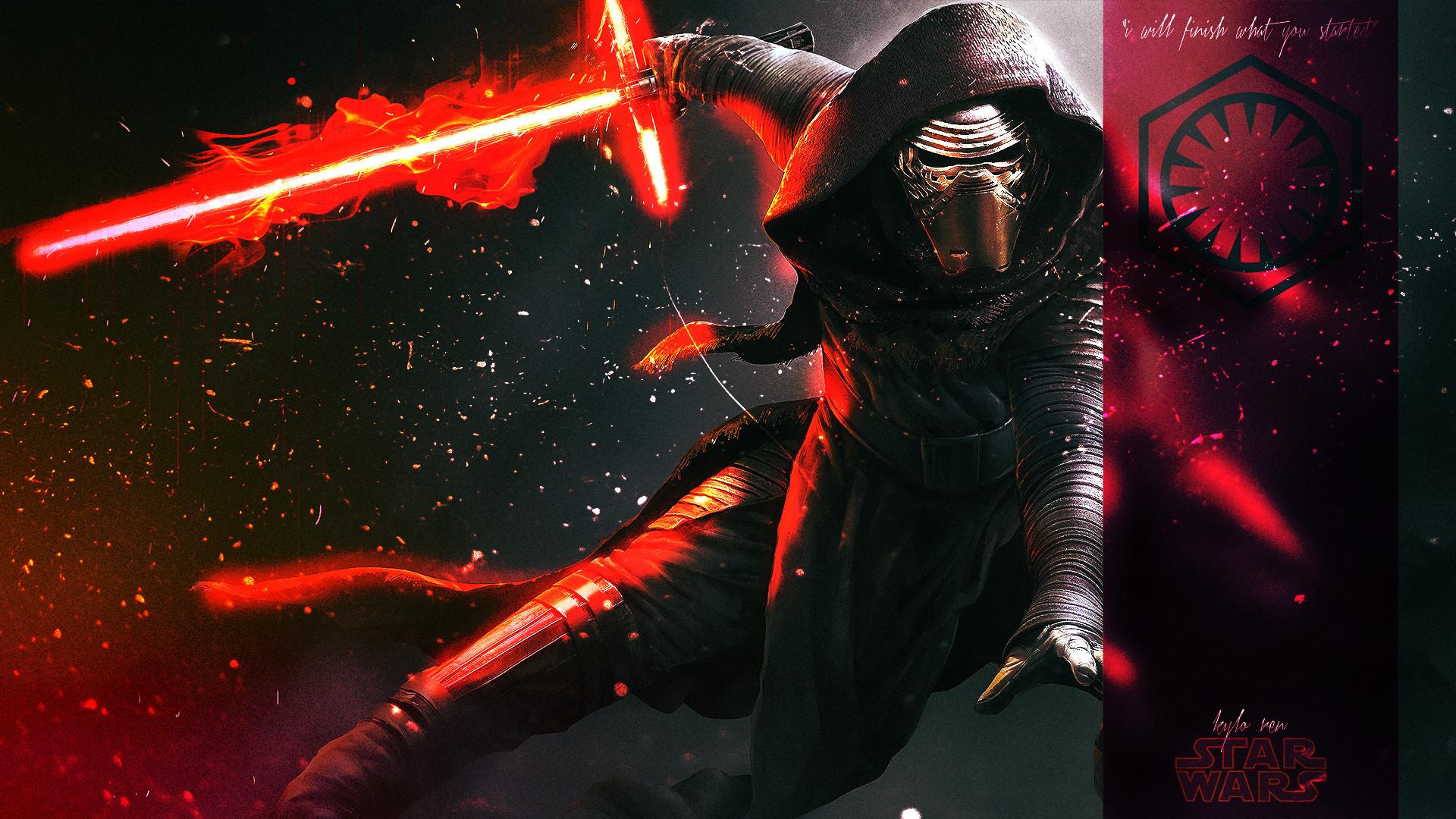 General Star Wars: The Force Awakens Kylo Ren fan art
