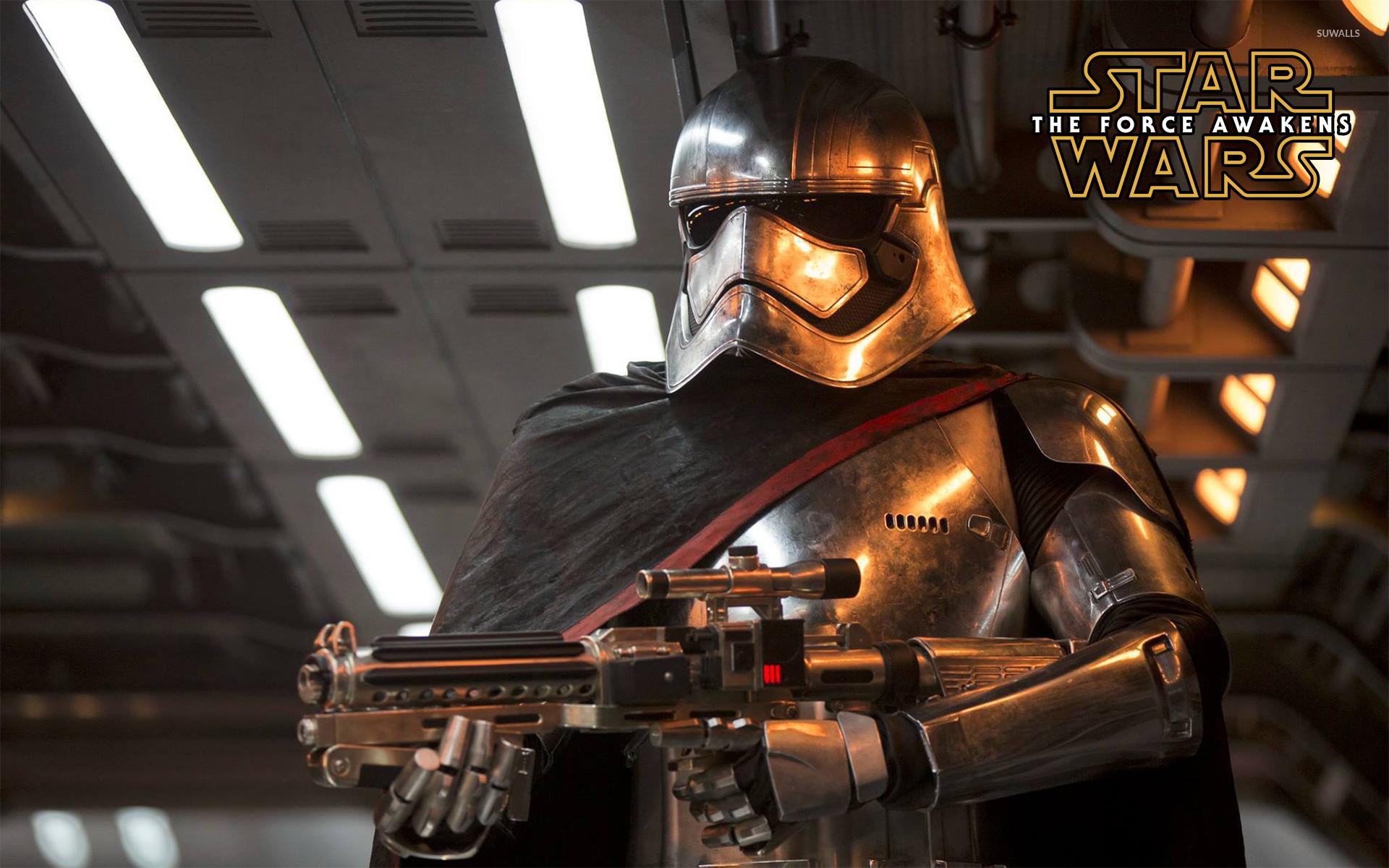 Captain Phasma in Star Wars: The Force Awakens wallpaper jpg