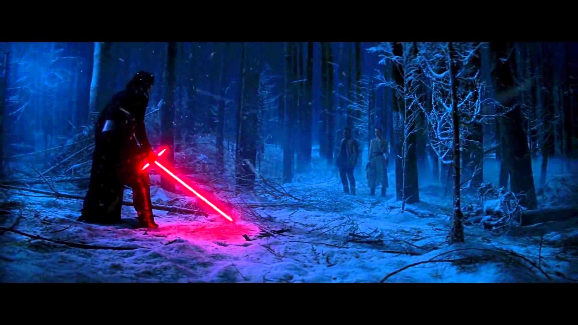 [HD] Kylo Ren vs Finn and Rey scene – Star Wars 7 – YouTube
