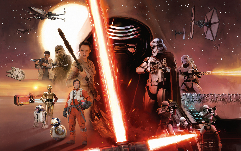 Kylo Ren interrogates Rey – The Force Awakens