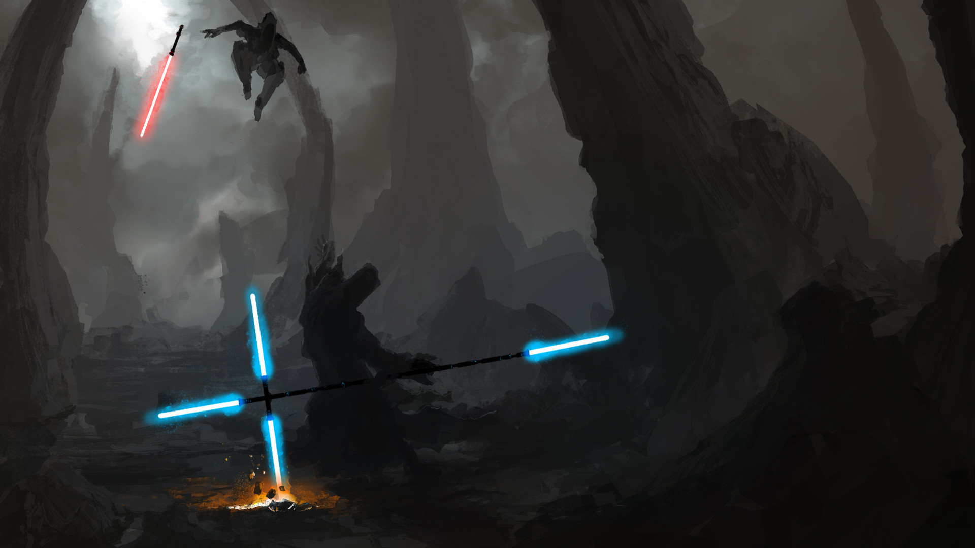 Kylo Ren Star Wars The Force Awaken HD desktop wallpaper .