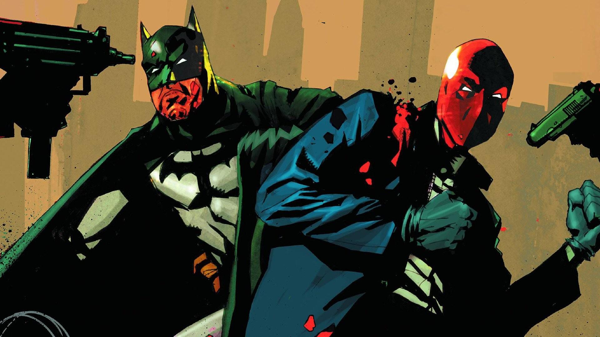 Batman Red Hood · HD Wallpaper | Background ID:793774