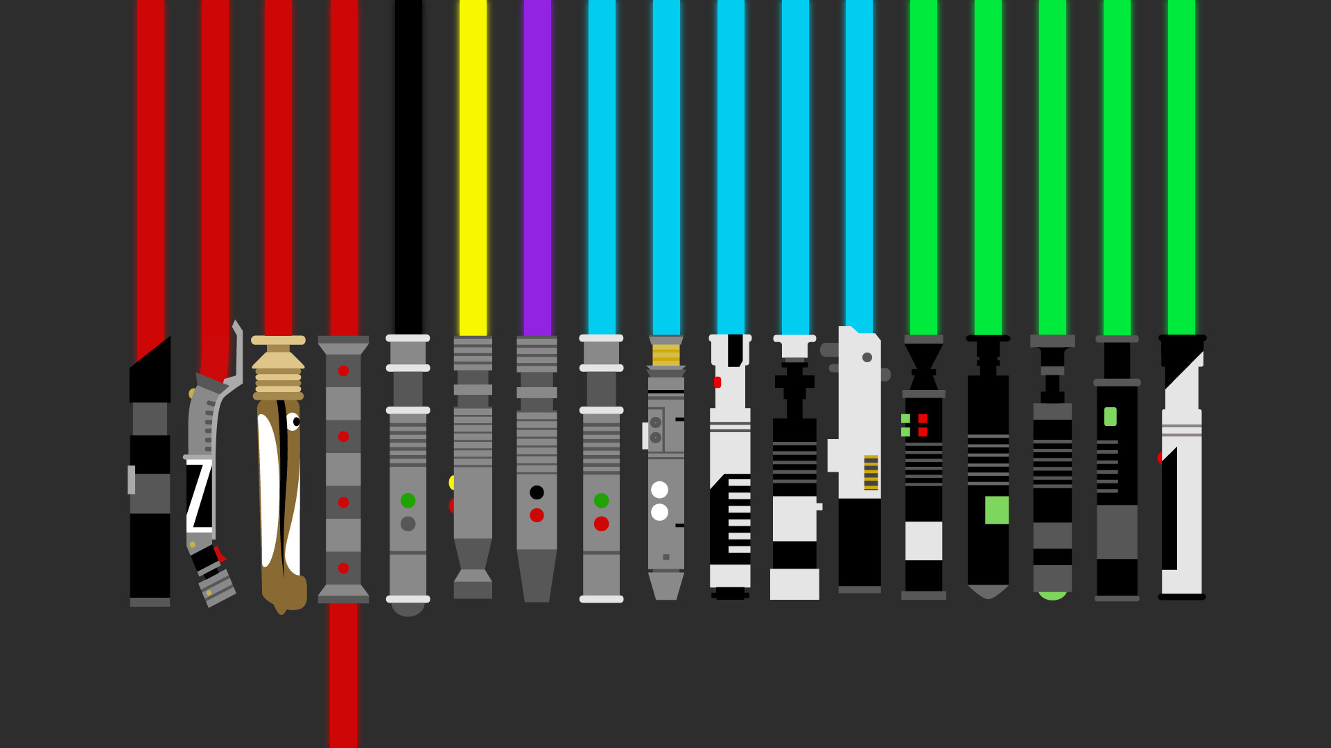 Vectored this lightsaber wallpaper – more info and resolutions in the  description (x-post