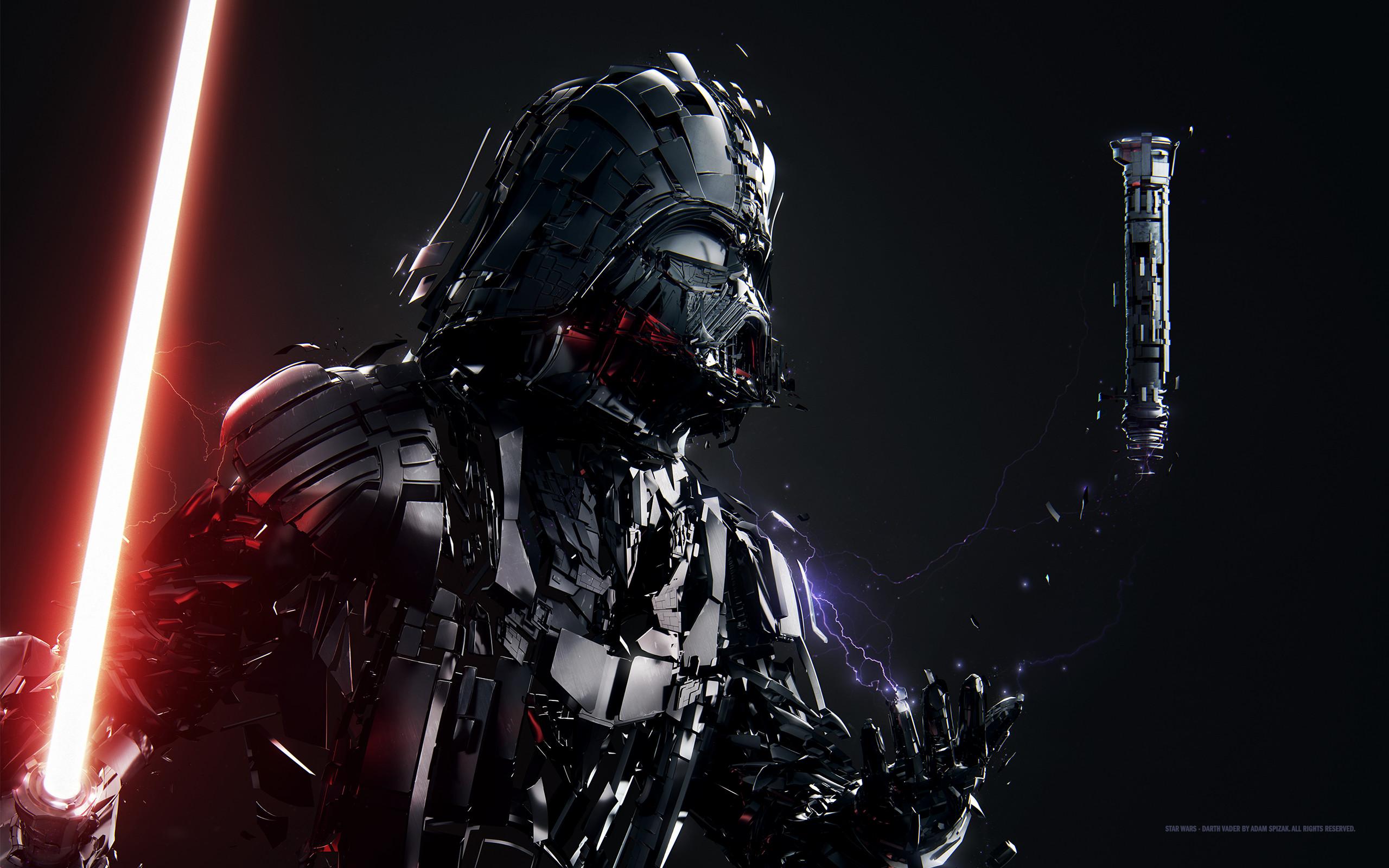 Sci Fi – Star Wars Darth Vader Lightsaber Wallpaper
