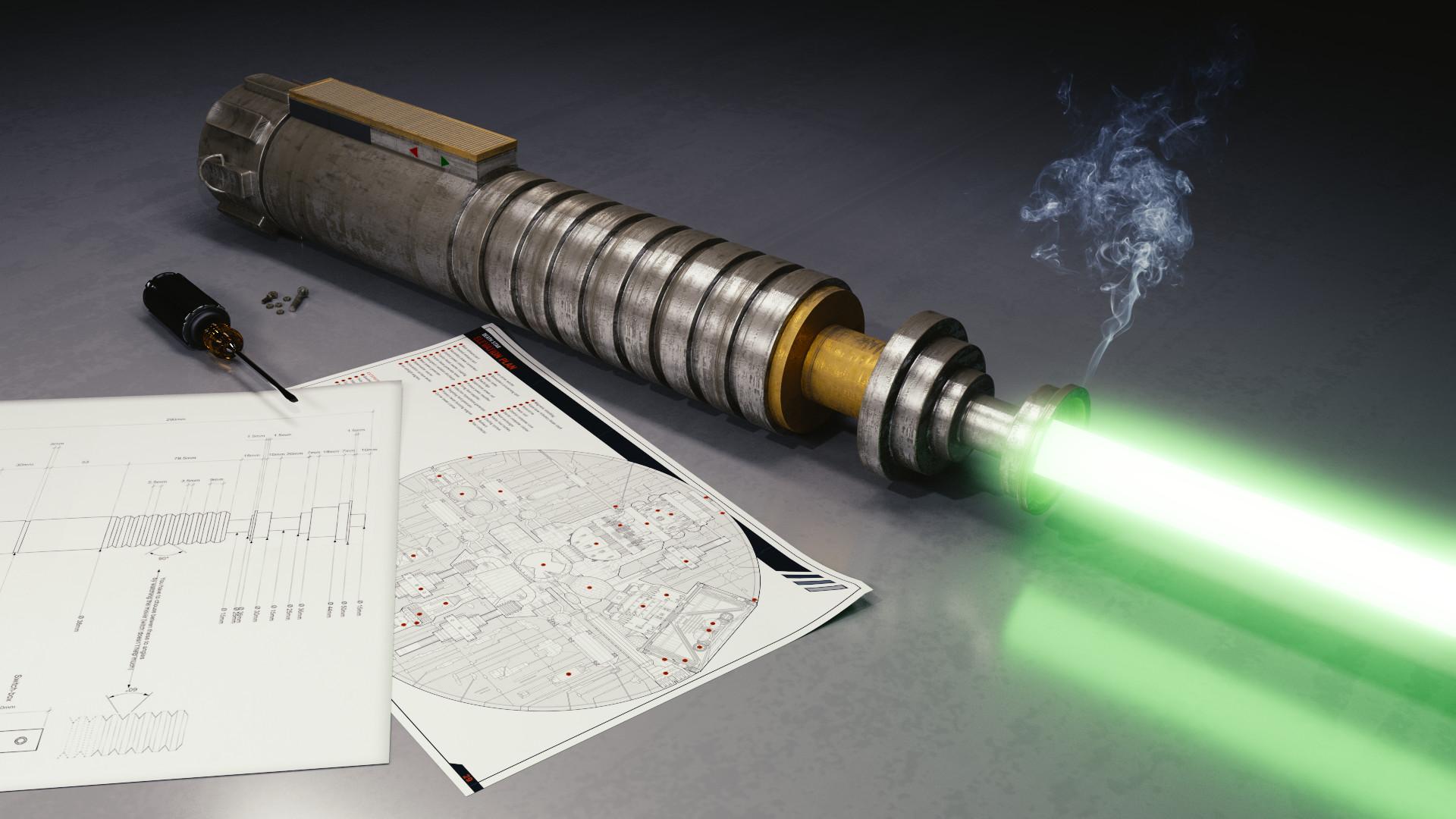 Download HD Lightsaber, Blender, Star Wars Wallpapers
