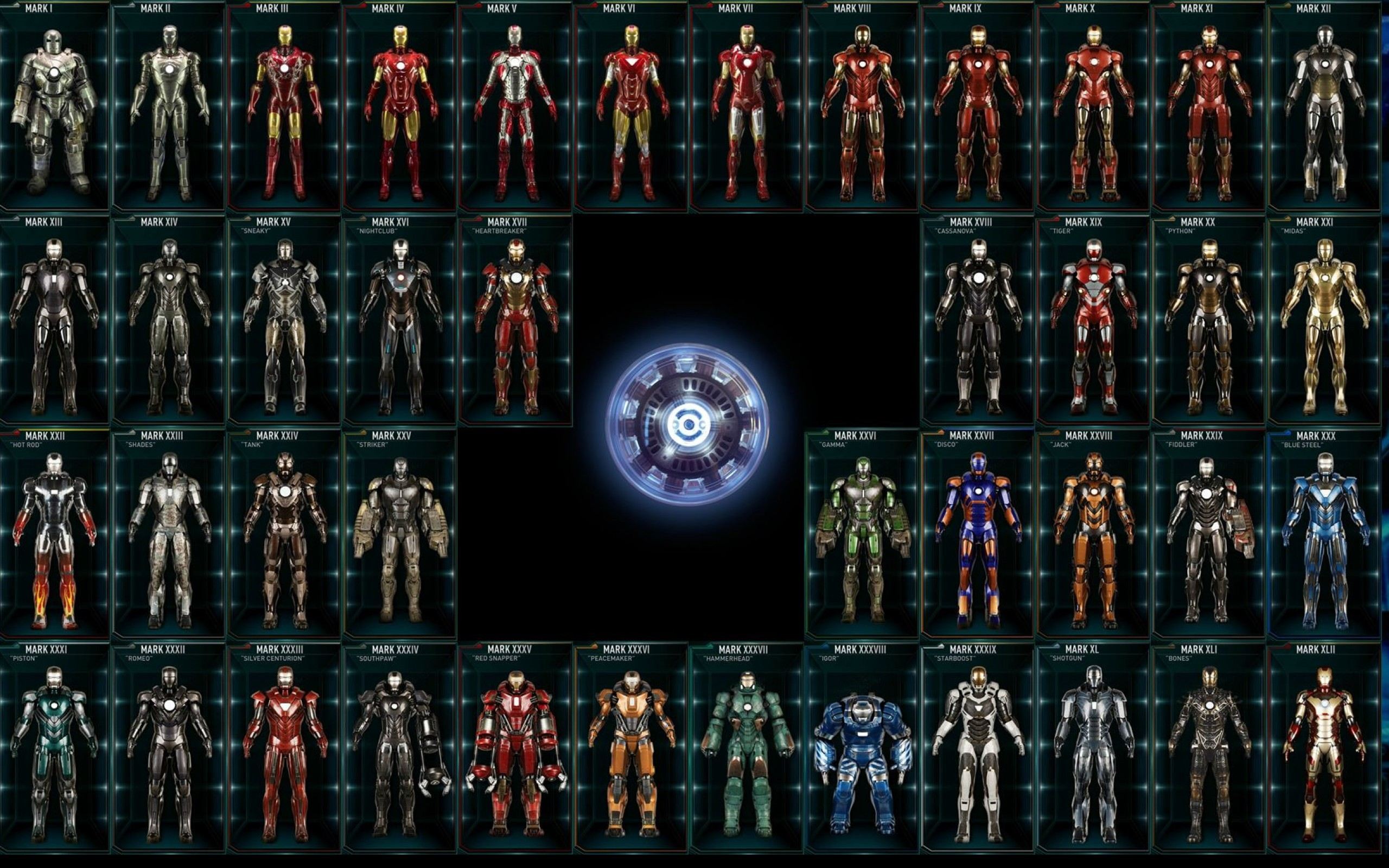 <b>Iron Man</b> Armor <b>Wallpapers</