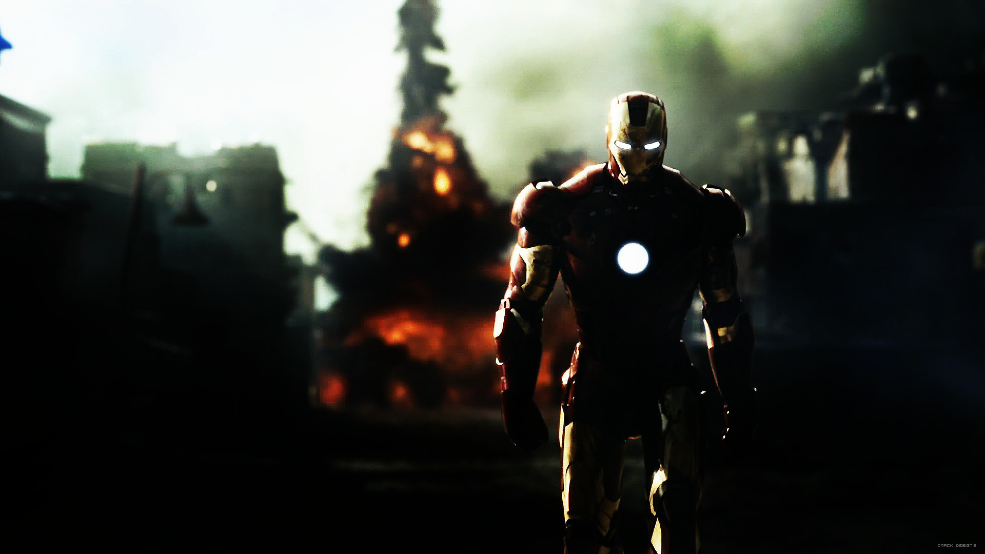 Iron Man HD PC Backgrounds, High Definition