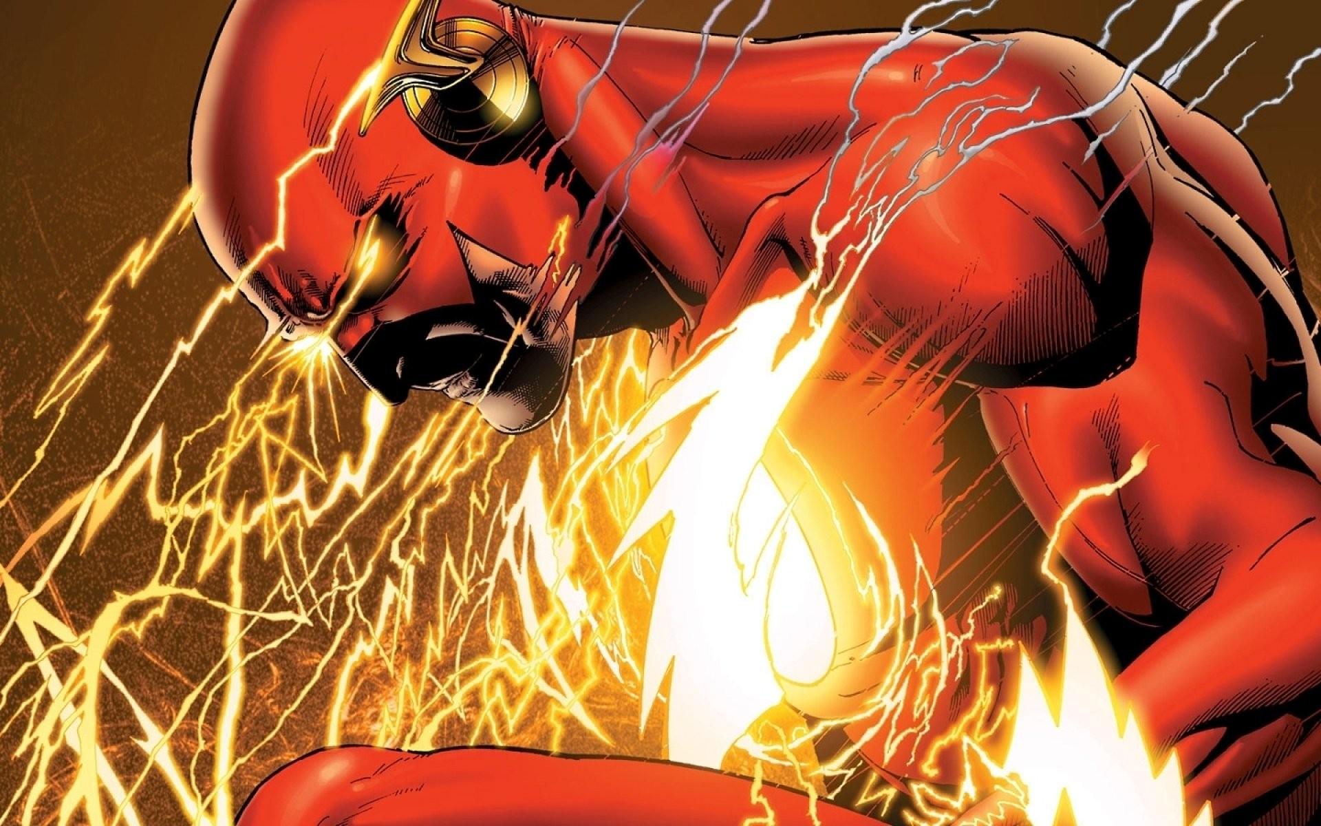 Comics – Flash Barry Allen DC Comics Wallpaper