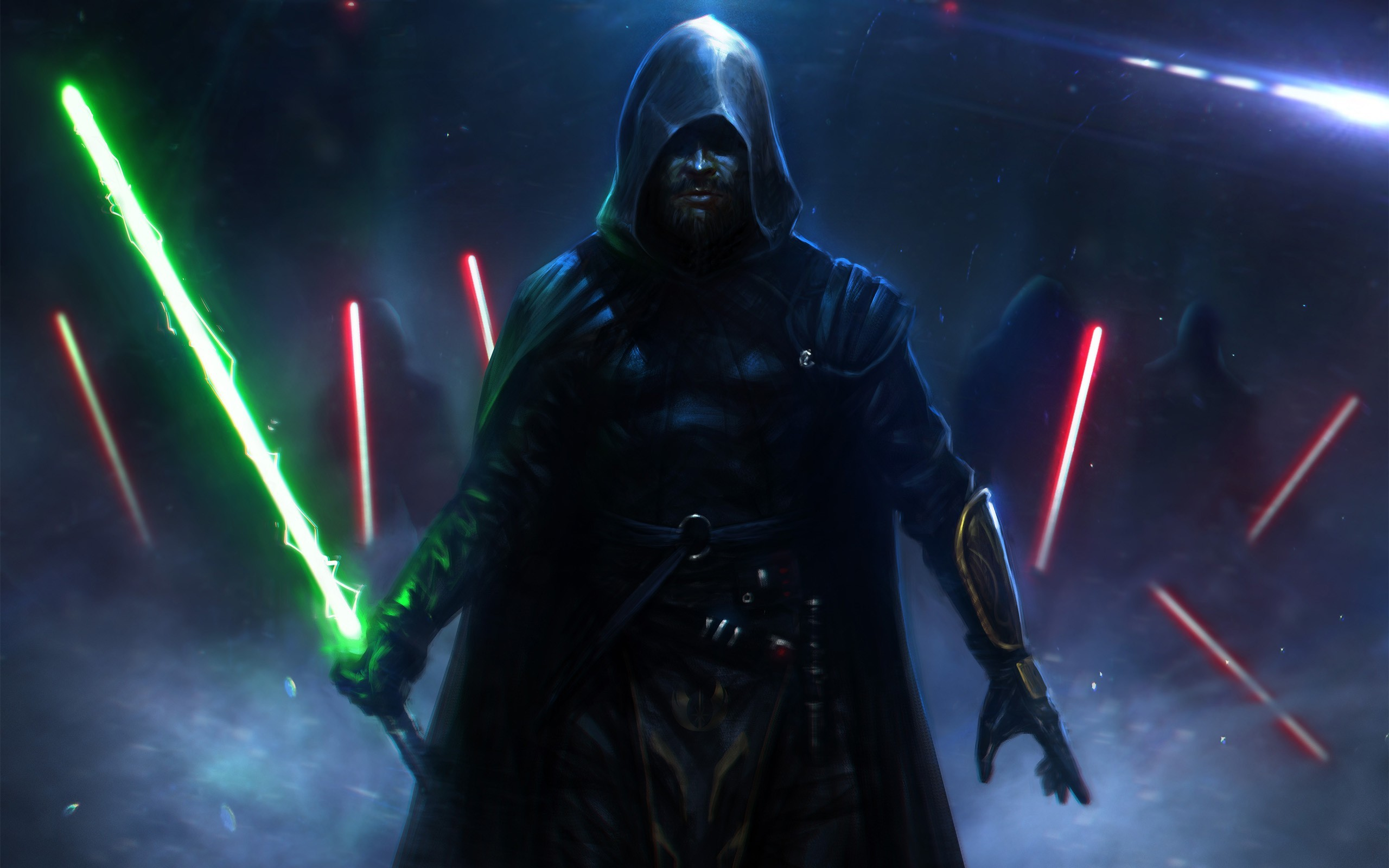 I made a wallpaper of the Sith and Jedi Codes – Imgur