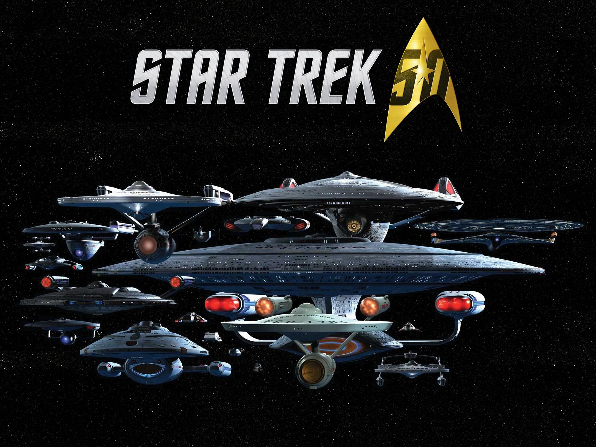 Star Trek 50th Anniversary Wallpaper by gazomg   Star Trek .