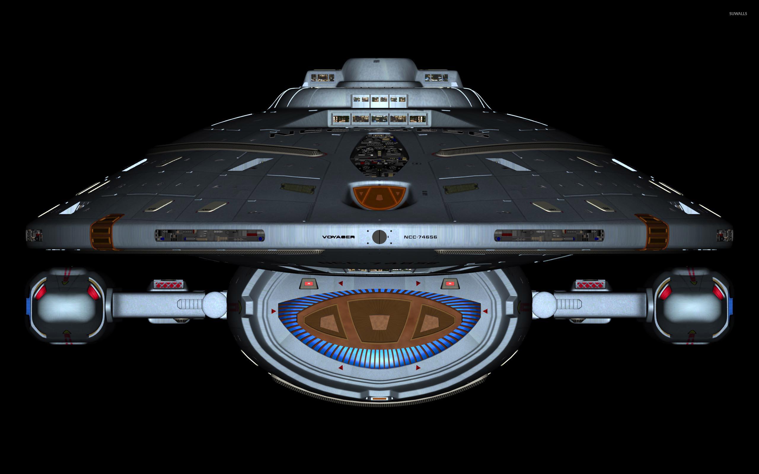 Desktop Fun: Star Trek Voyager Wallpaper Collection