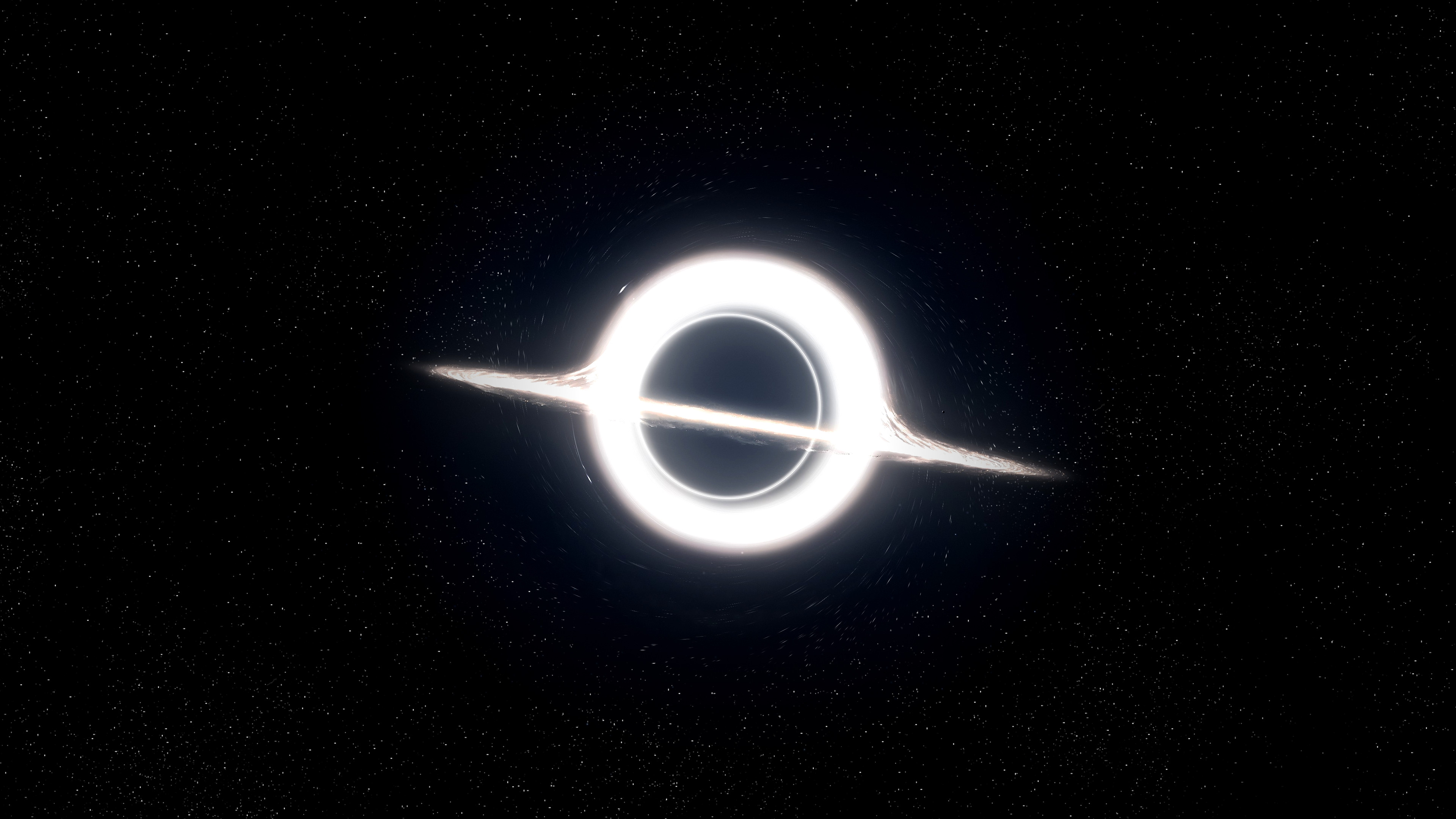 Gargantua, the black hole from Interstellar   [3840×2160] …