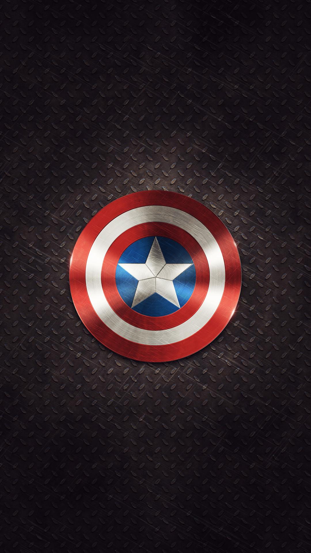 Captain America Shield Android Wallpaper …