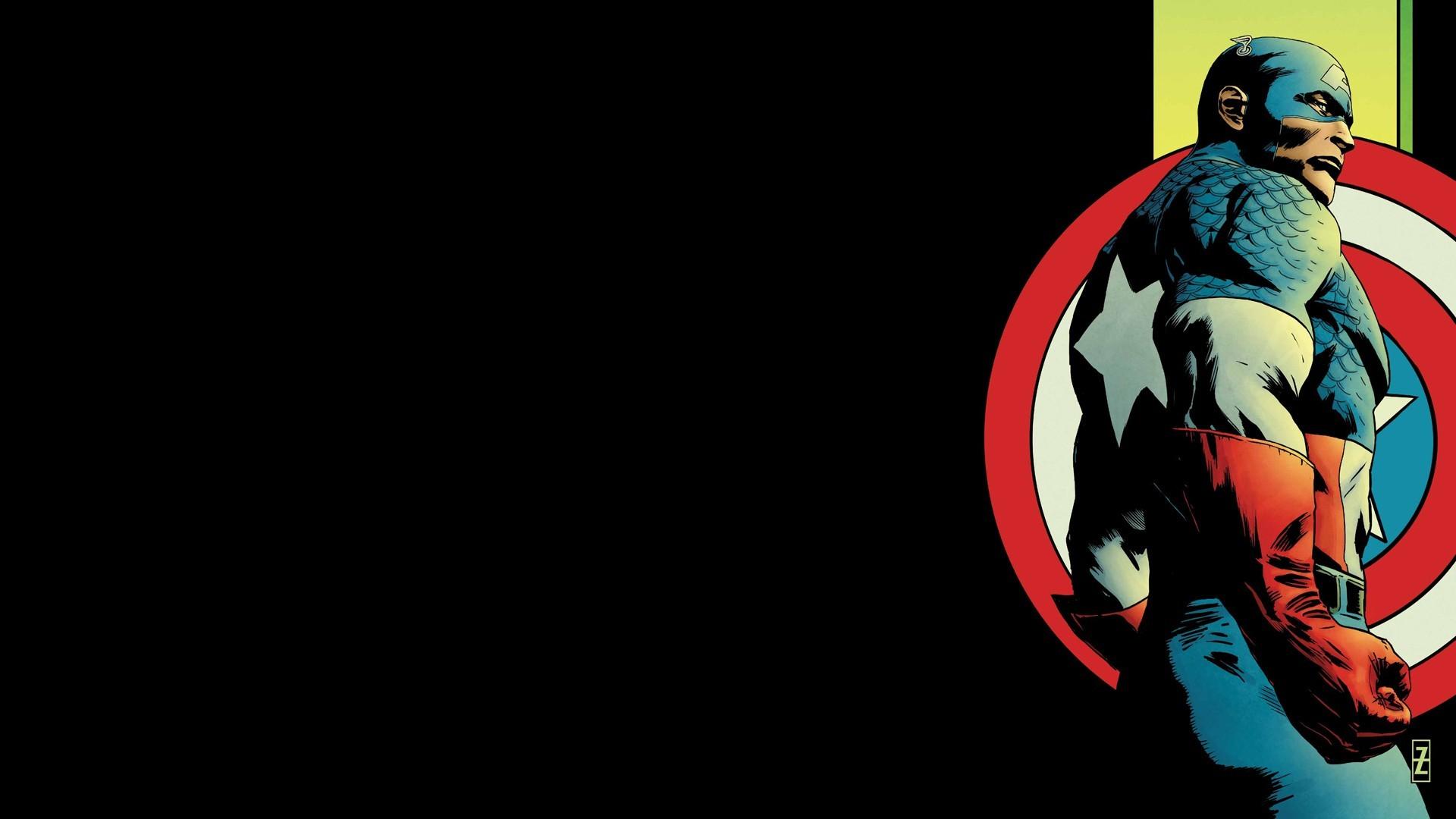 Captain America Comic Wallpapers (41 Wallpapers)