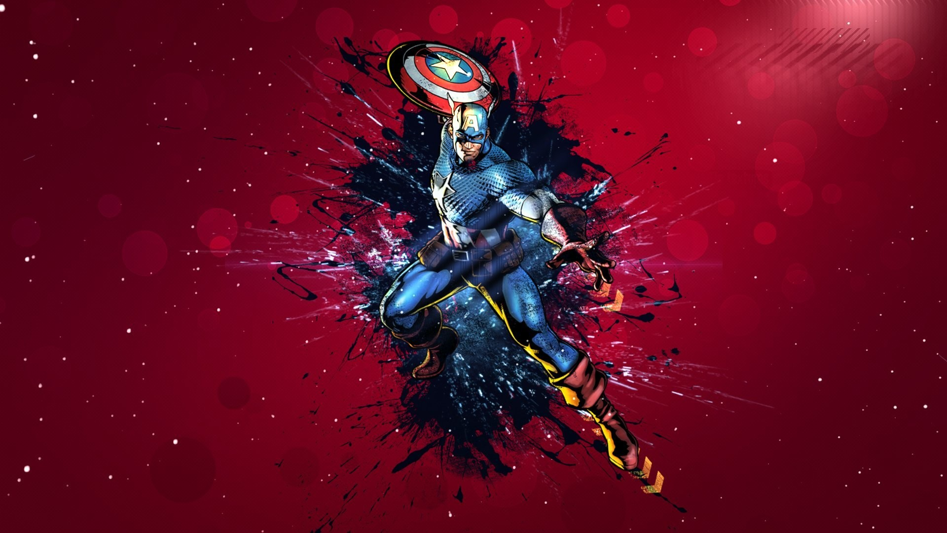 capitan america captain america shield mask form jump