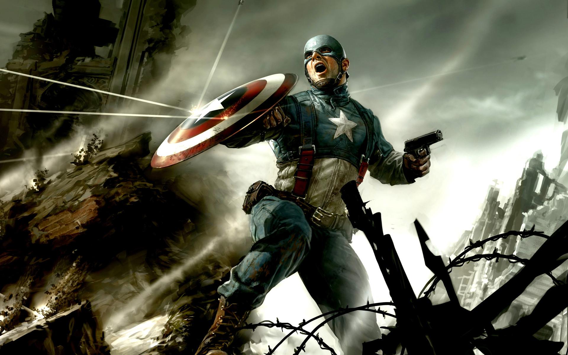 Captain America HD Wallpapers – WallpaperSafari