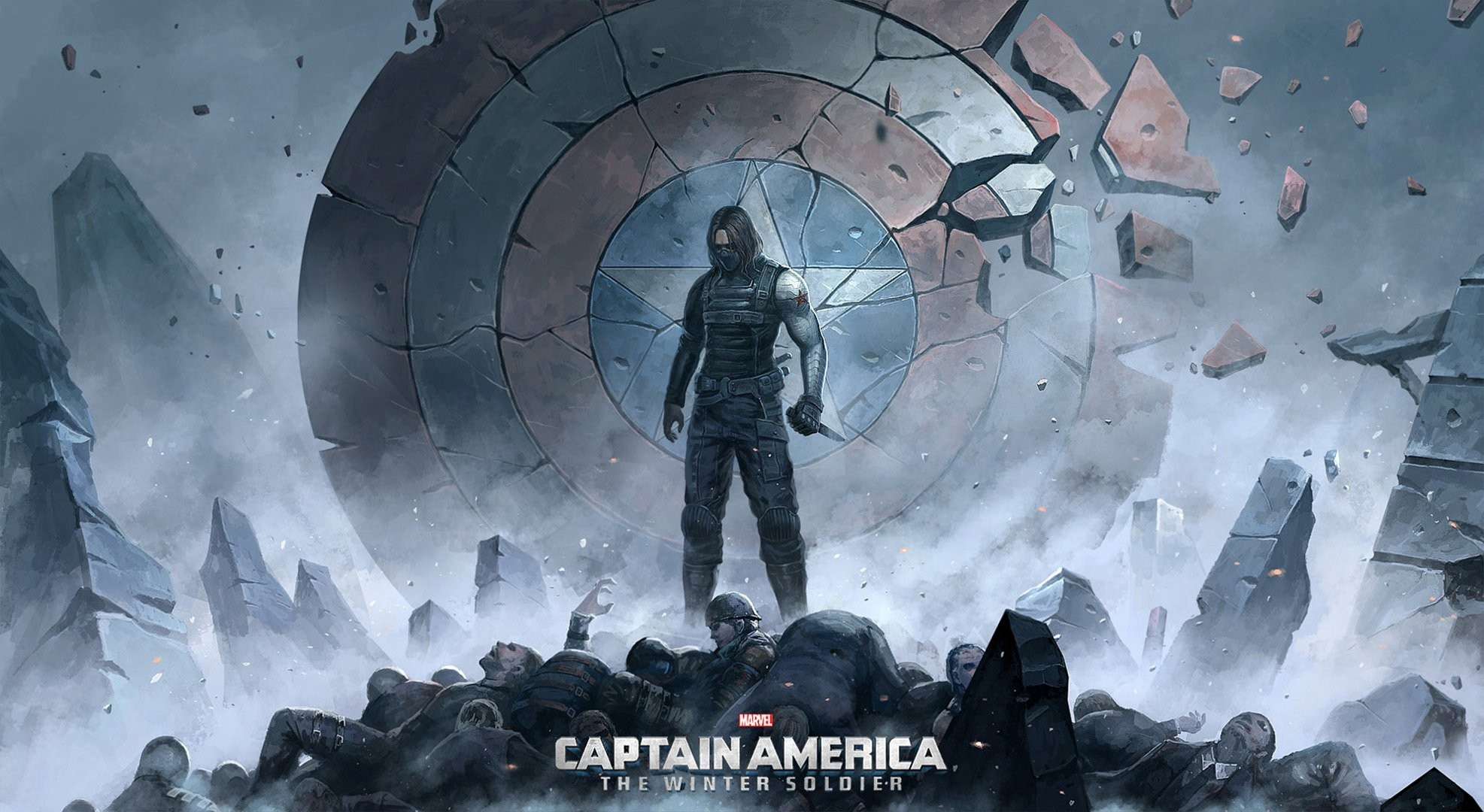 Captain America Winter Soldier Wallpapers Free
