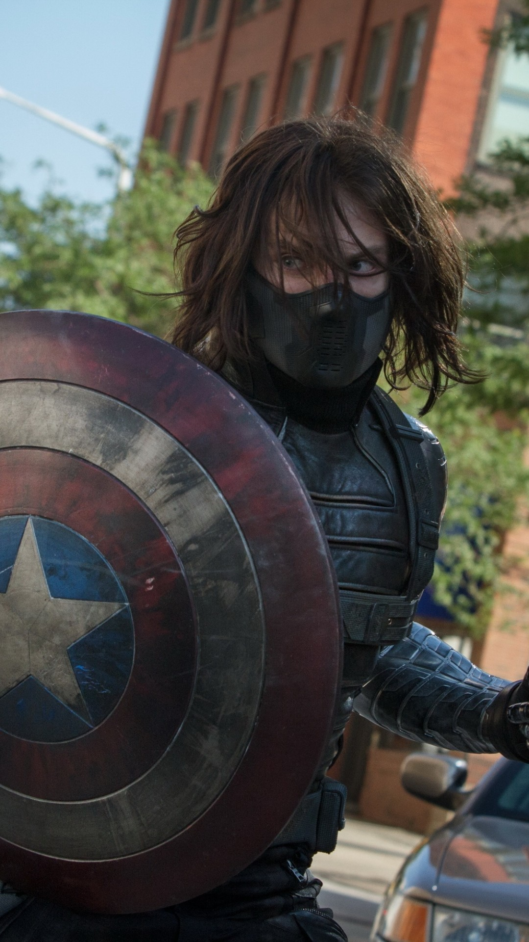 Preview Wallpaper Captain America The Winter Soldier Steve Rogers