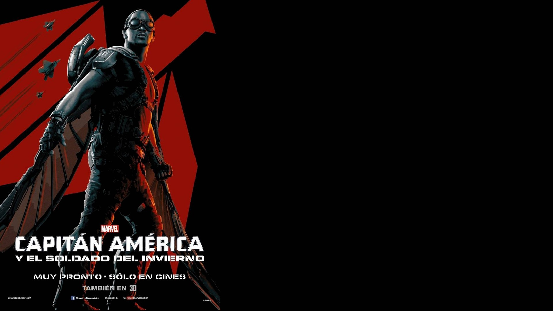Movie – Captain America: The Winter Soldier Falcon (Marvel Comics) Anthony  Mackie Wallpaper