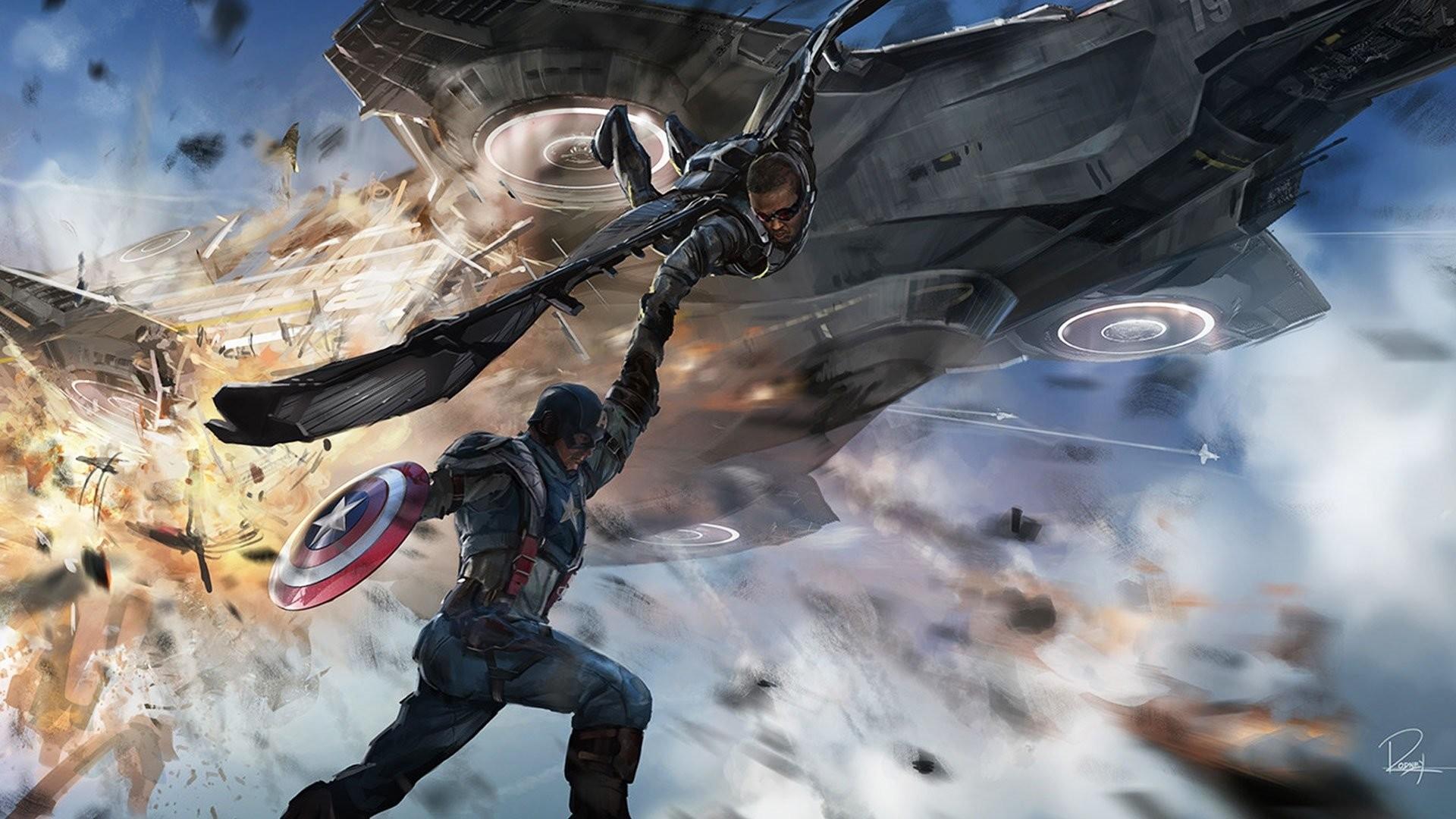 CAPTAIN AMERICA WINTER SOLDIER action adventure sci-fi superhero marvel  wallpaper     471123   WallpaperUP
