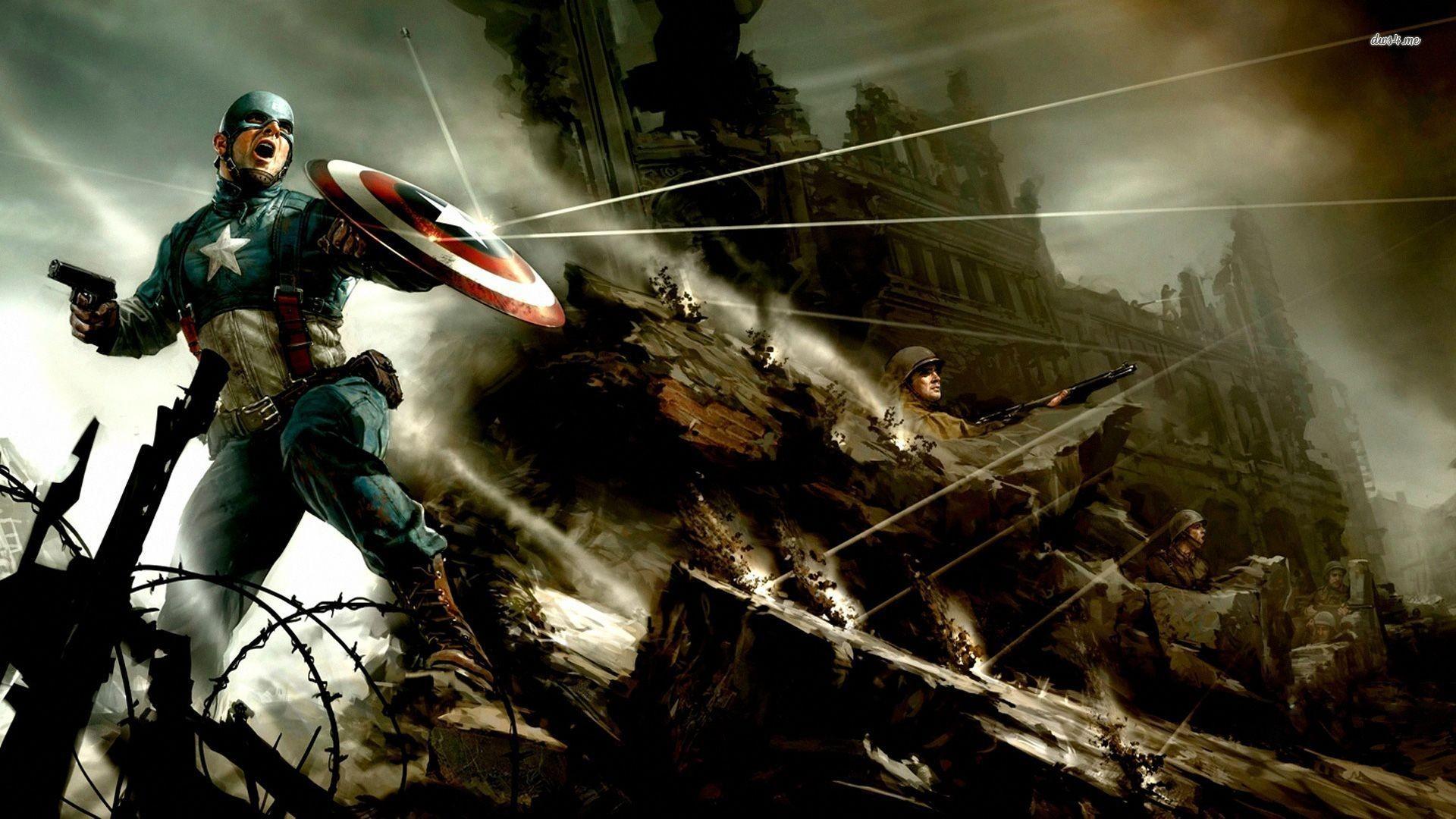 Captain America Concept