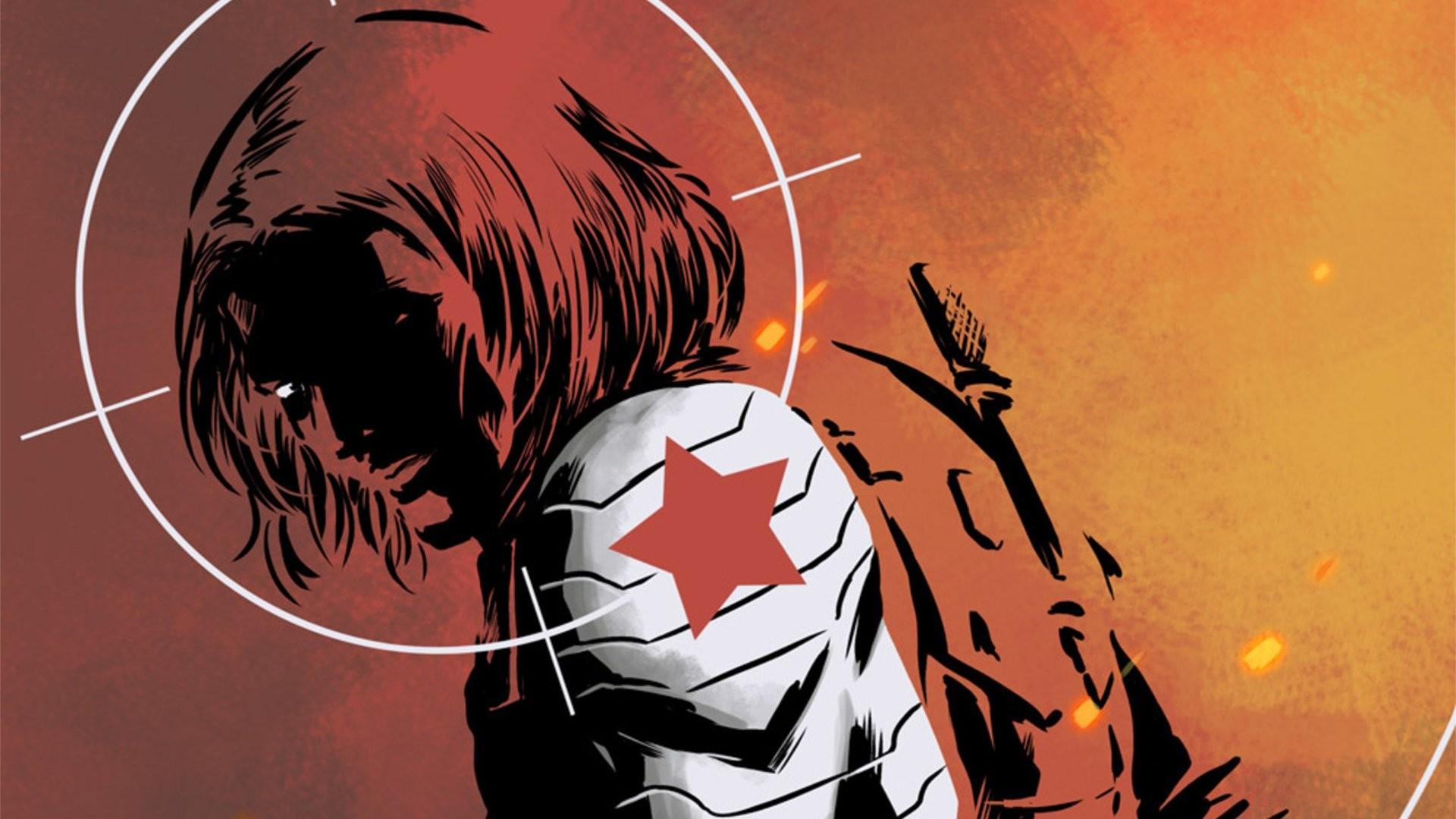 Comics – Winter Soldier Marvel Comics Bucky Barnes Wallpaper