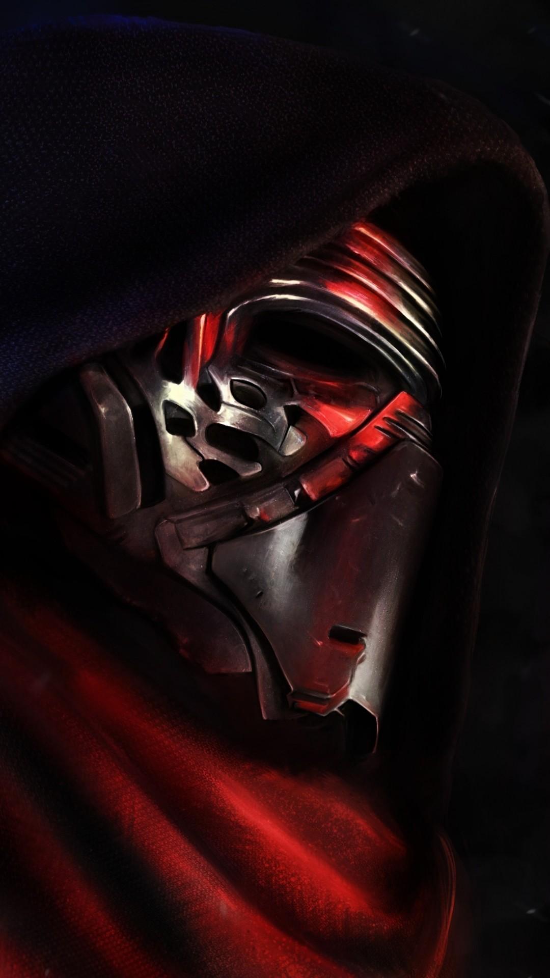 Star Wars The Force Awakens Wallpaper Kylo Ren profile