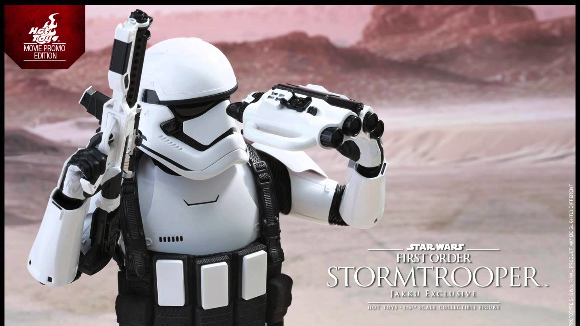Star Wars The Force Awakens Hot Toys First Order Stormtrooper Jakku  Exclusive 1/6 Scale Figure!