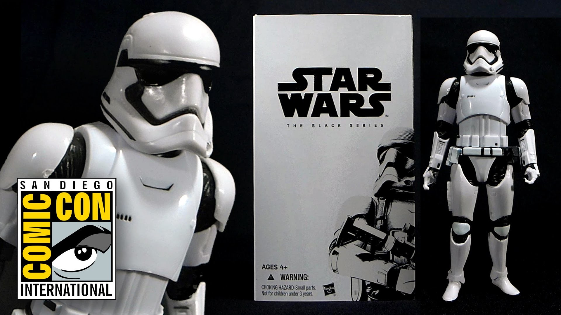 SDCC 2015 Star Wars: The Force Awakens First Order Stormtrooper Figure!