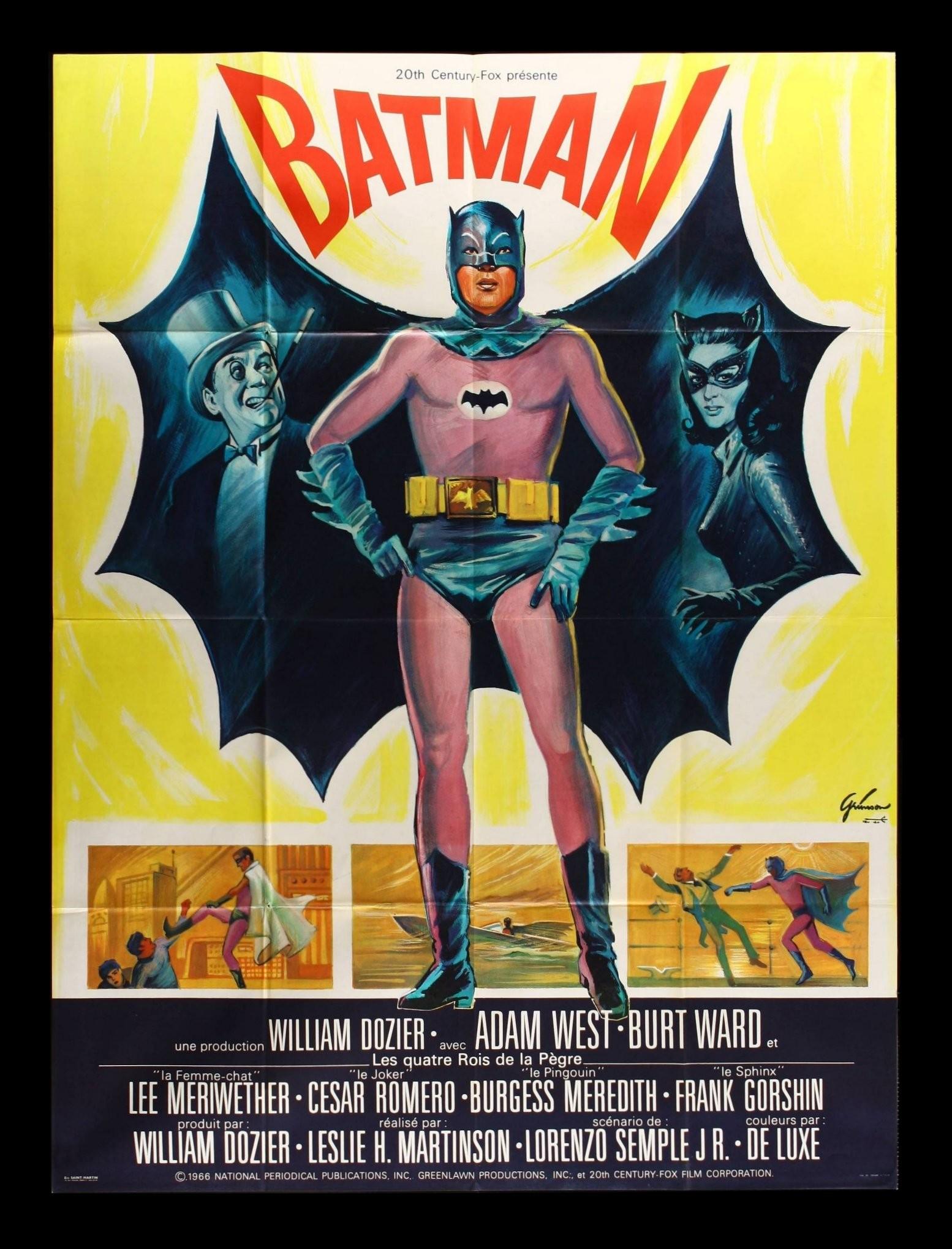 Early Batman Movie Poster Wallpaper
