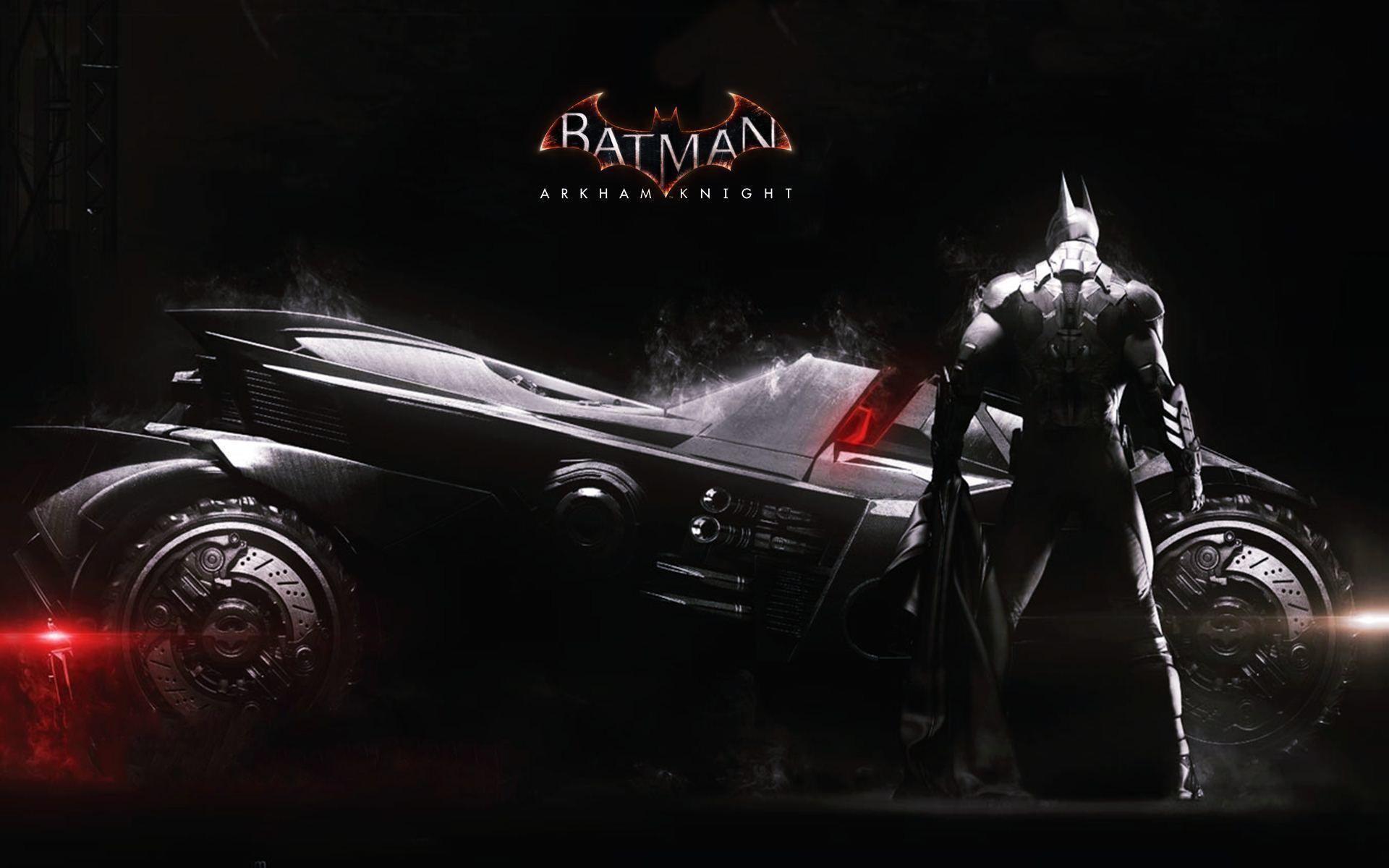 2014 Batman Arkham Knight Batmobile Exclusive HD Wallpapers #