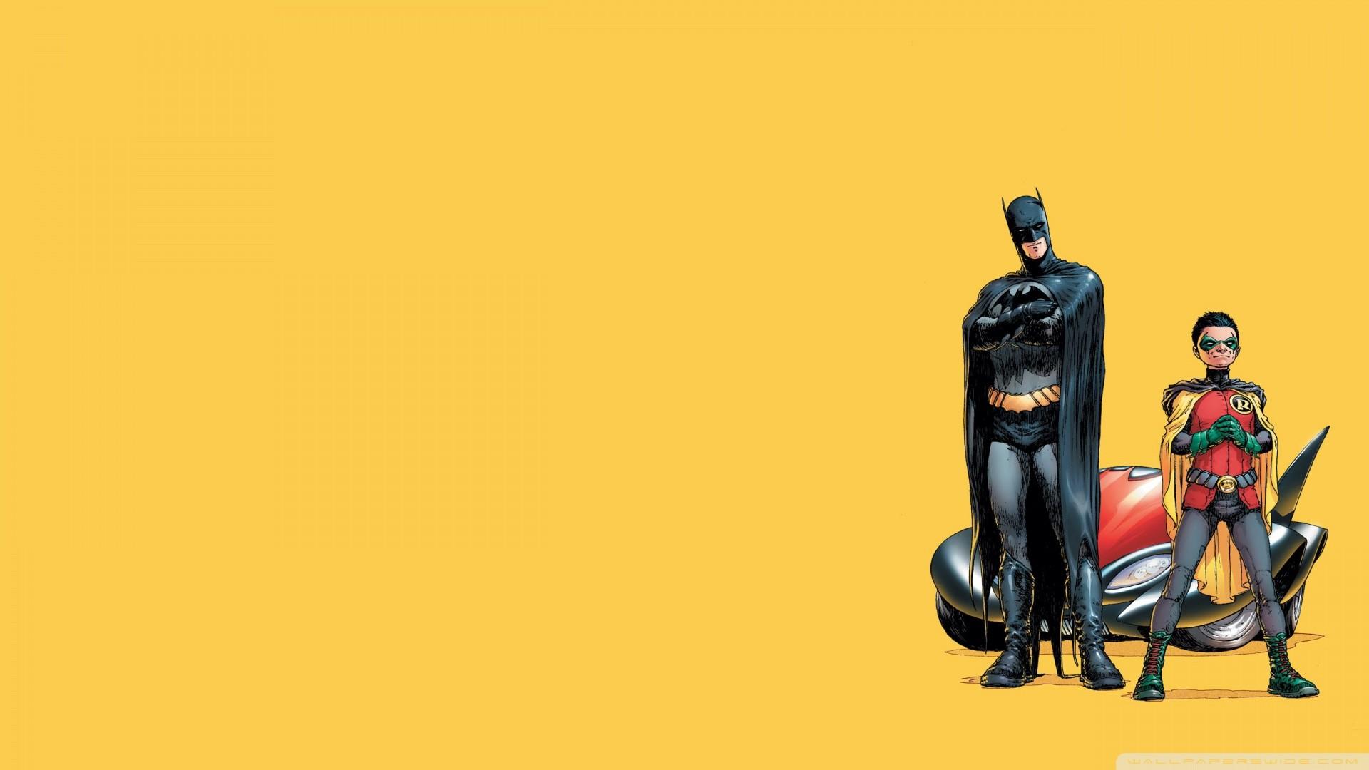 Batman And Robin Cartoon Wallpaper Batman, And, Robin .
