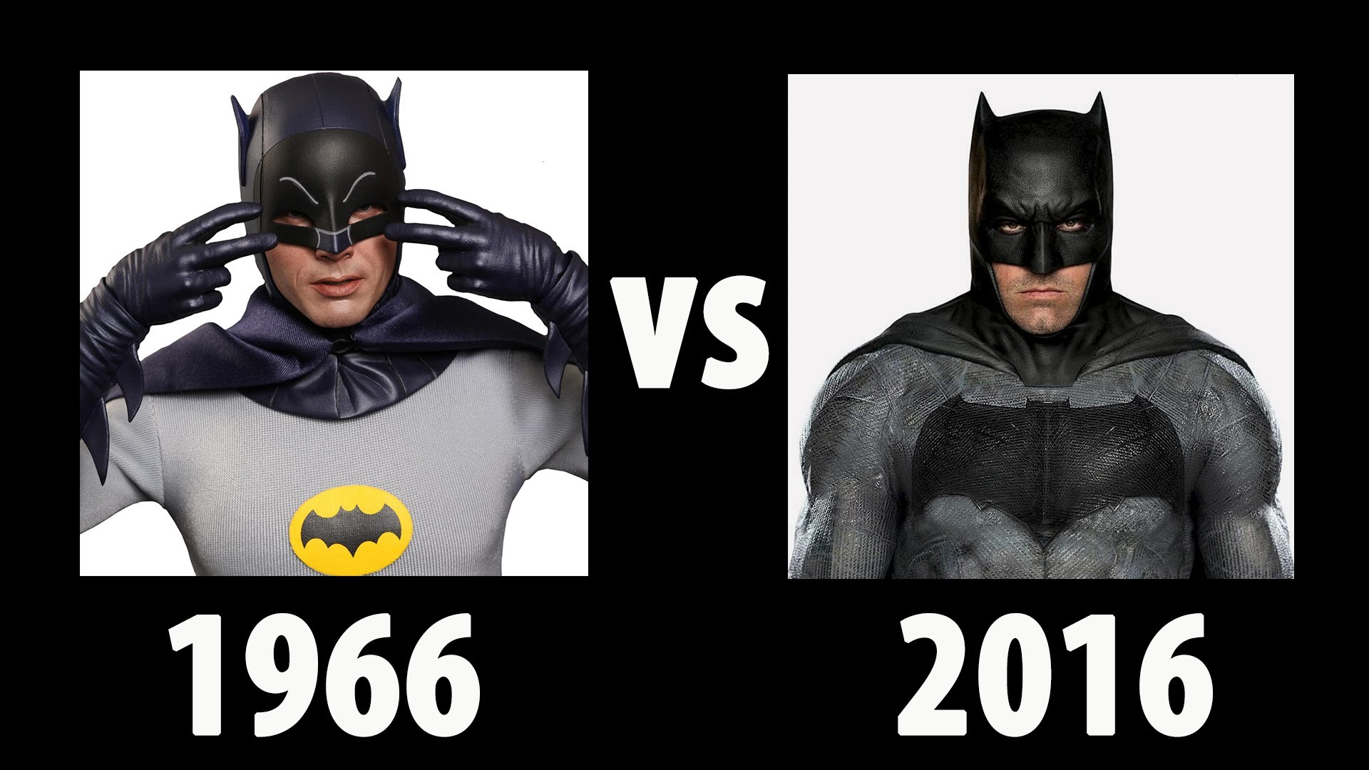 BATMAN 2016 VS BATMAN 1966