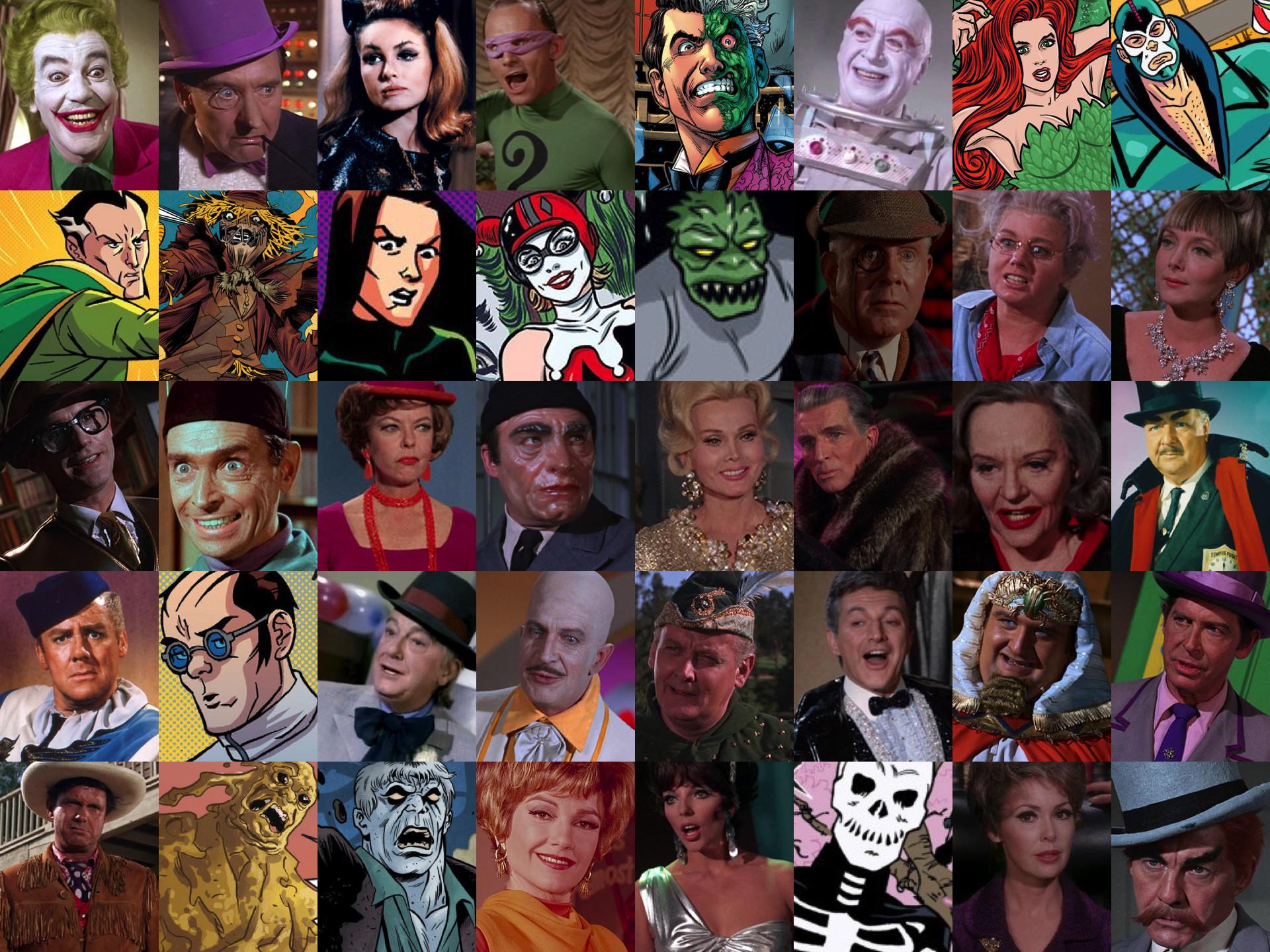 Batman Villains 1966 by Legion472 Batman Villains 1966 by Legion472