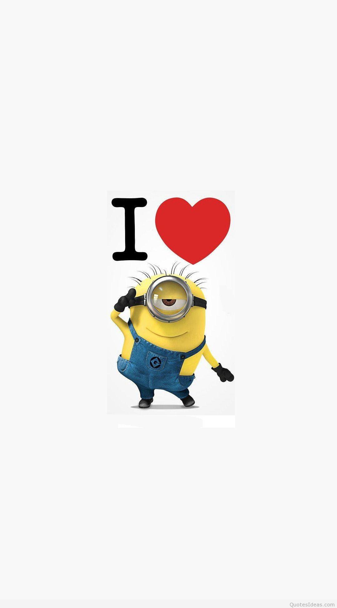 … i-love-minions-cartoon-mobile-wallpaper-1080×1920-2446- …