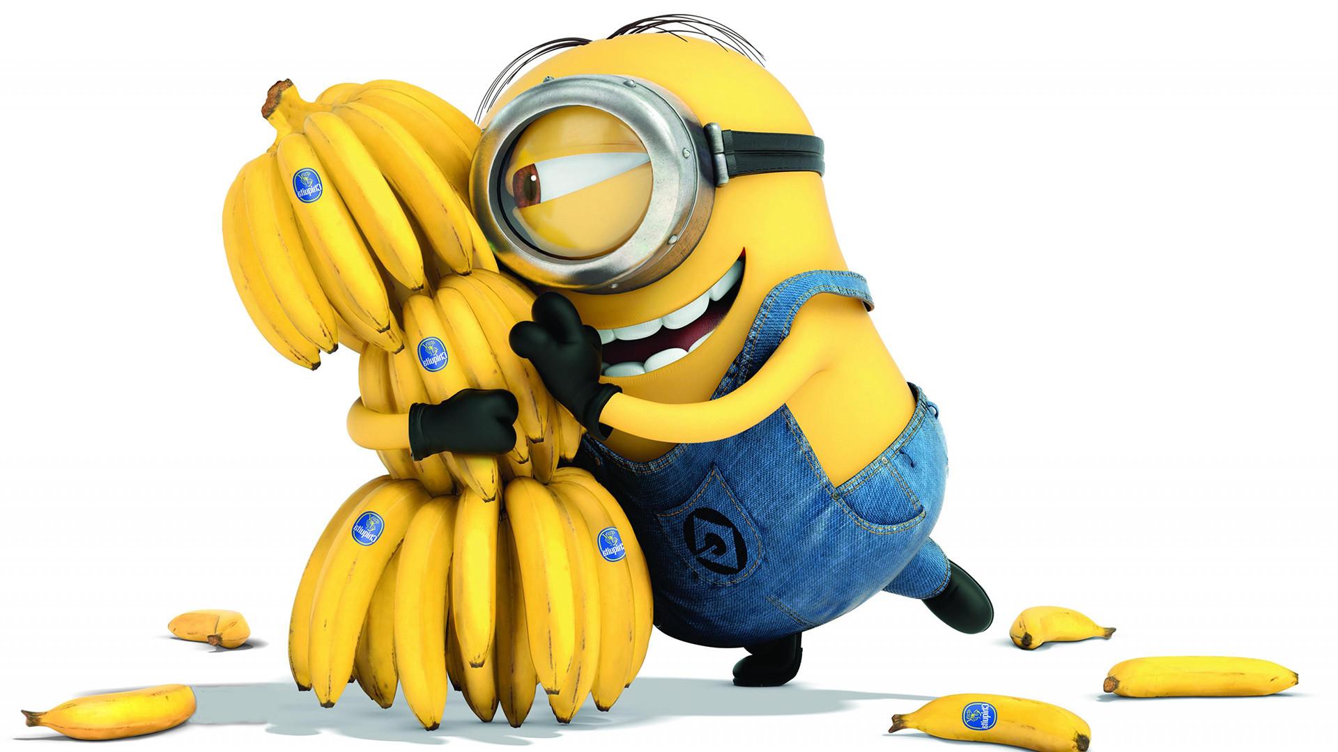 Minions Love Banana 2015 Movie HD Wallpapers