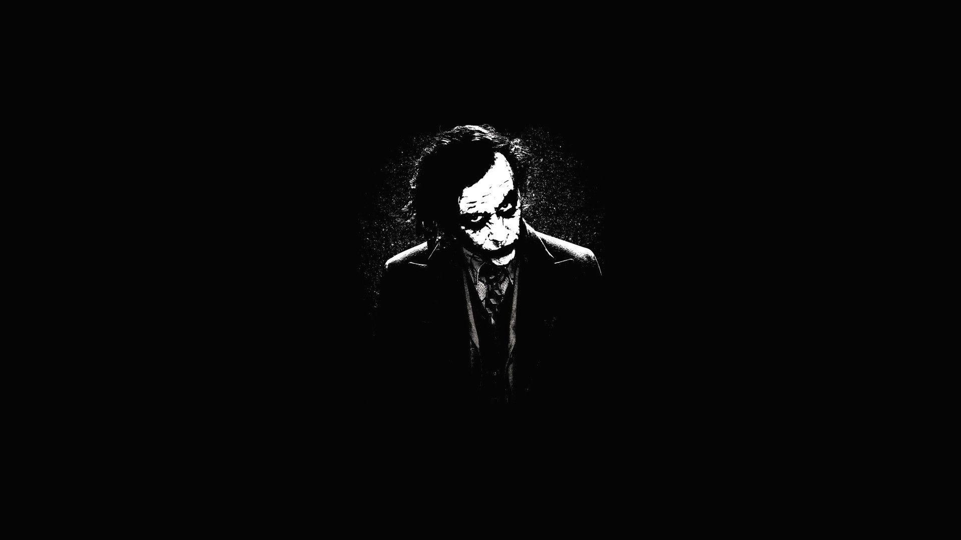 The Joker, the dark knight, heath ledger, digital-art, .