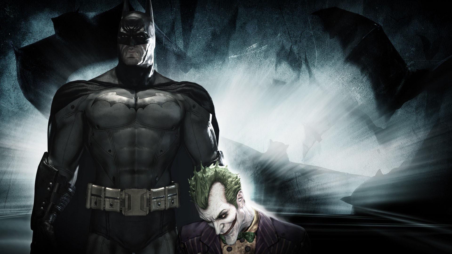 Batman and The Joker HD Wallpaper. « »