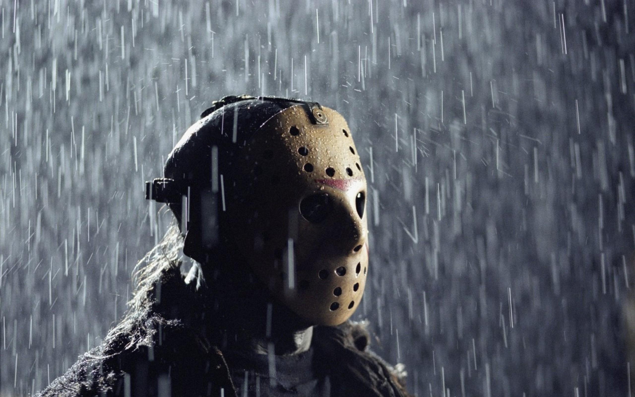 horror movies rain jason friday the 13th jason voorhees 1400×911 wallpaper  Art HD Wallpaper