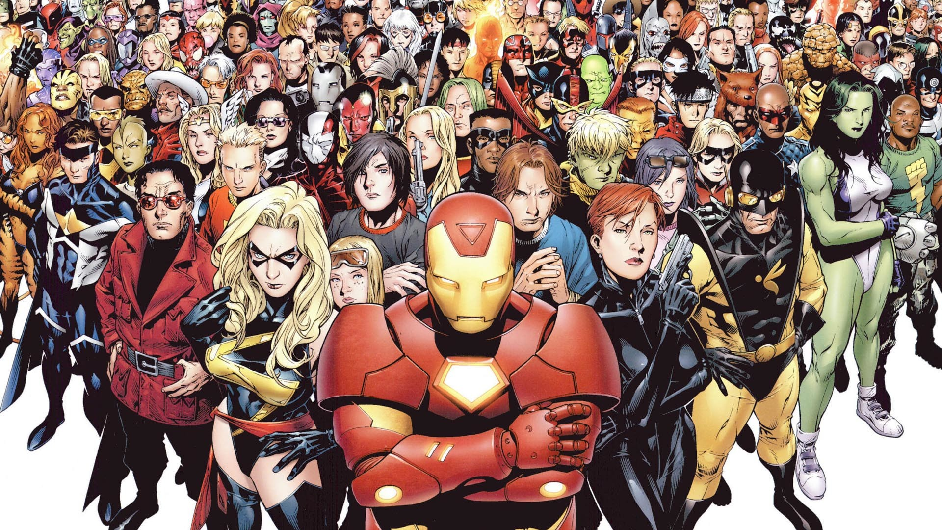 Super Heroes Marvel Wallpaper High Definition