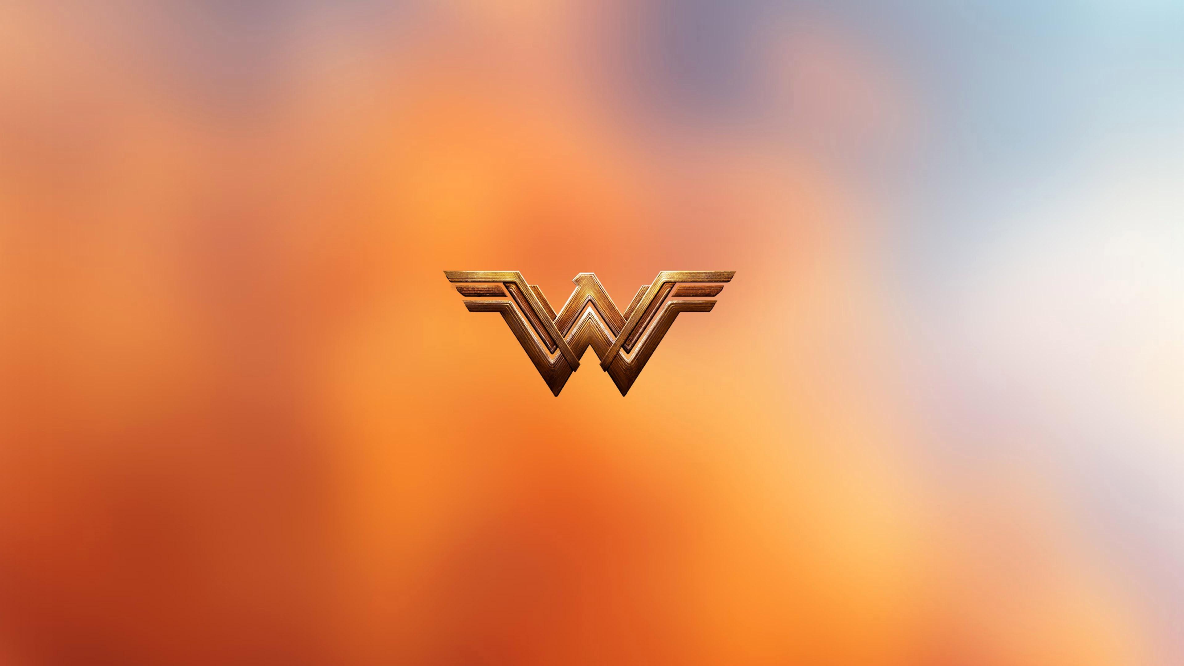 Wonder Woman 2017 Movie Logo Colors wallpaper
