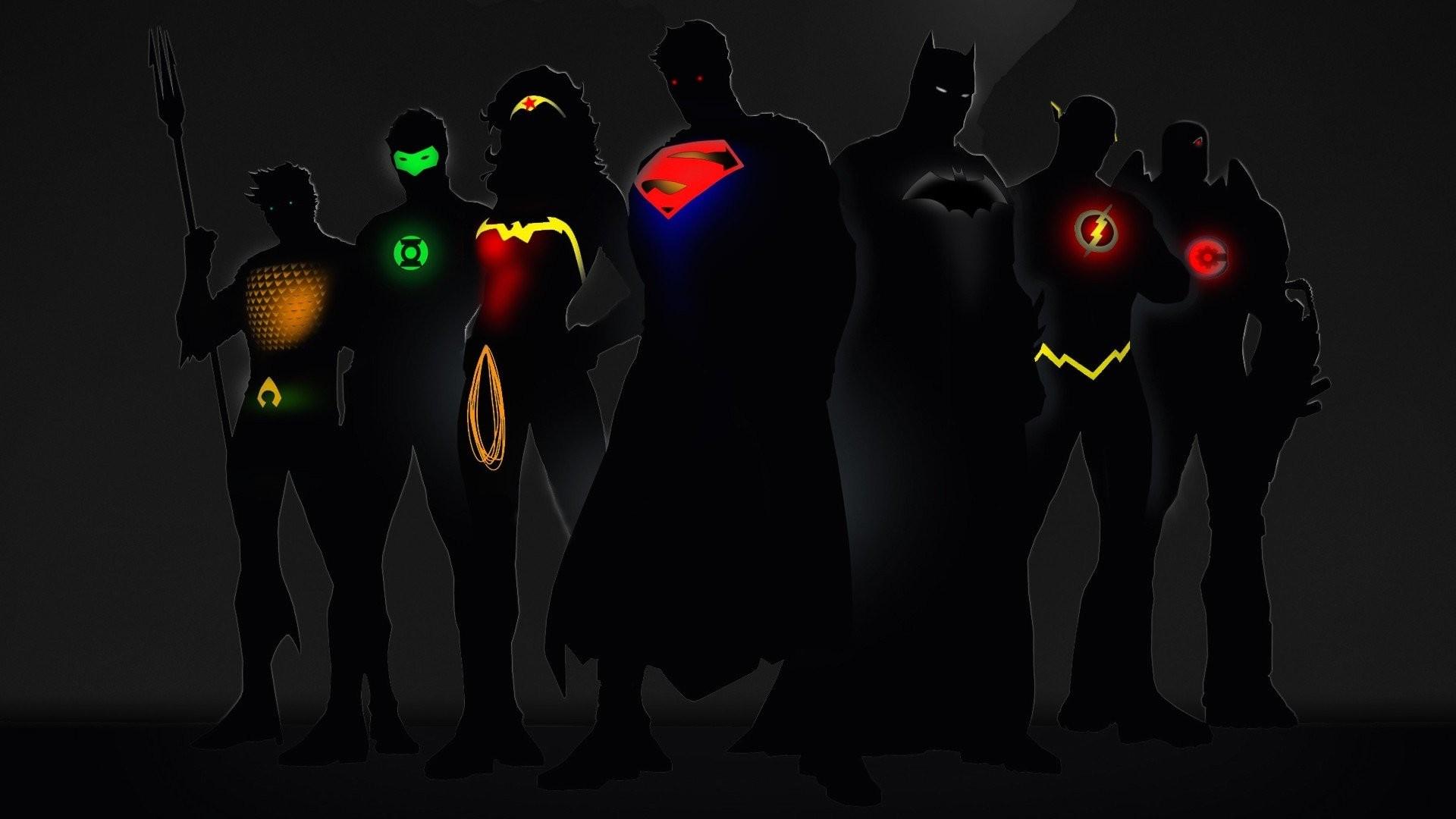 Justice League Superman Batman Wonder Woman The Flash Cyborg Green Lantern  Aquaman …
