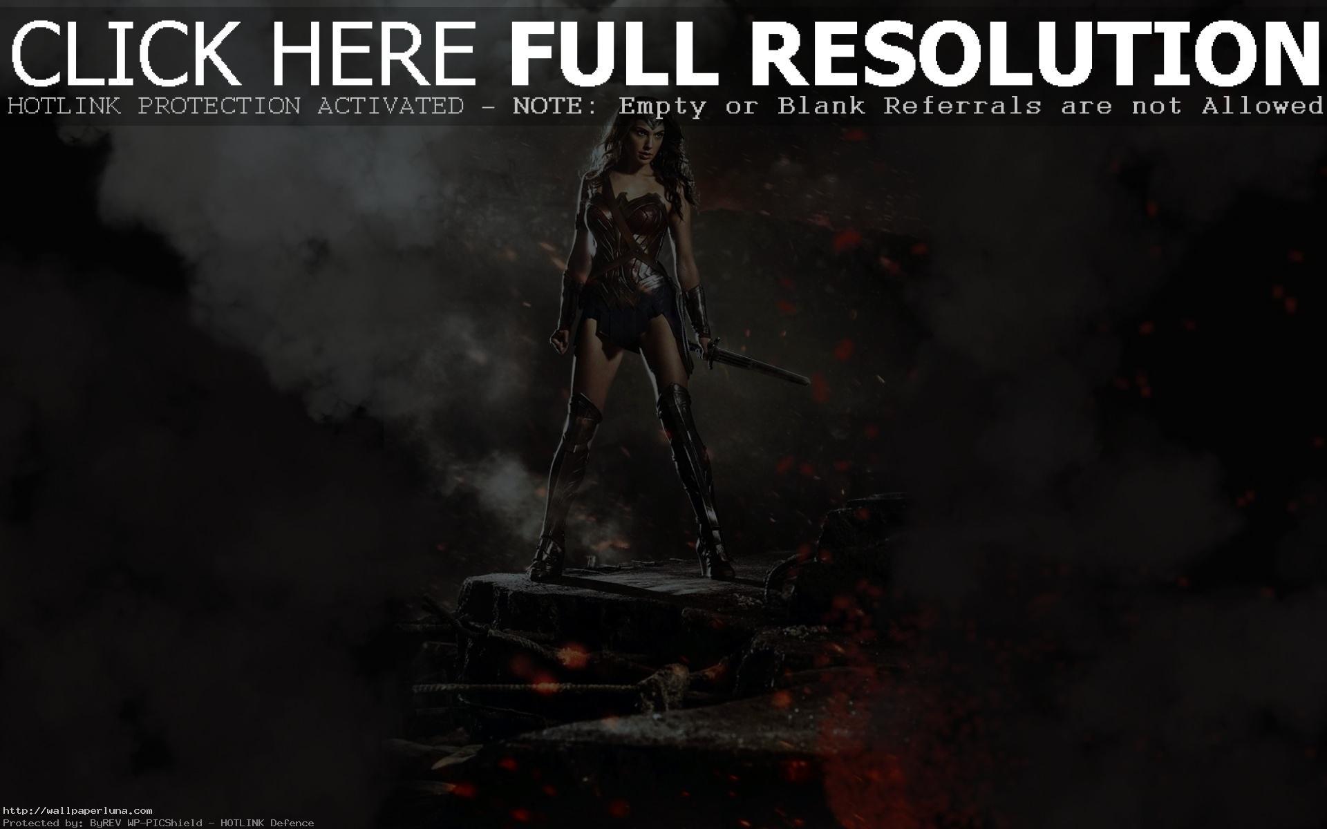 Wonder Woman Desktop Wallpapers