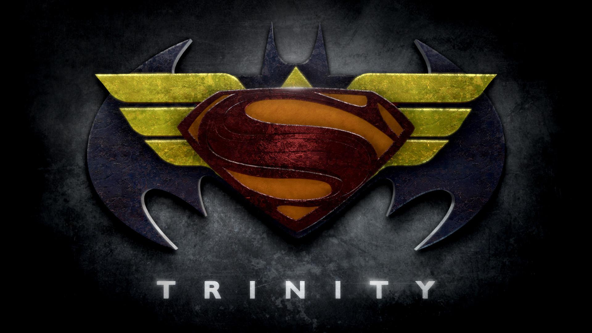 "Wonder Woman · ""Trinity"" stylized logo https://www.redbubble.com/people"