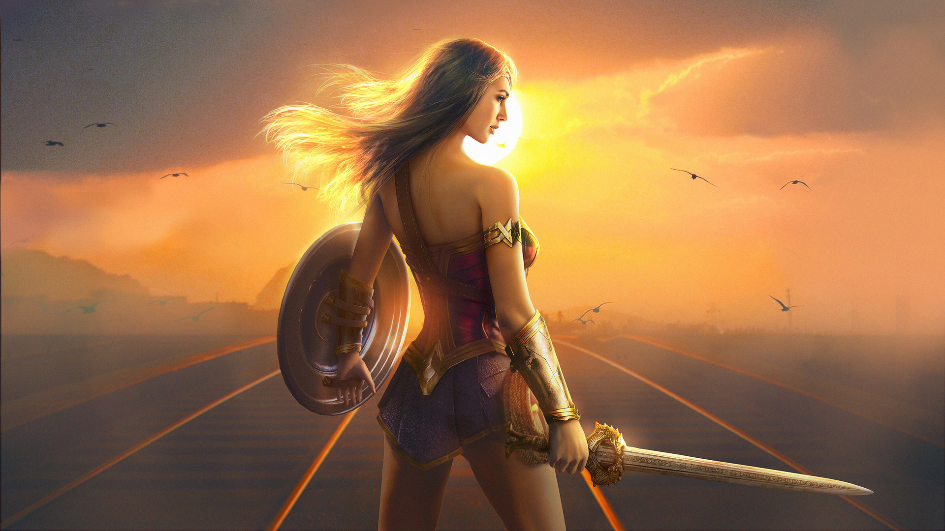 Wonder Woman Fan Art HD