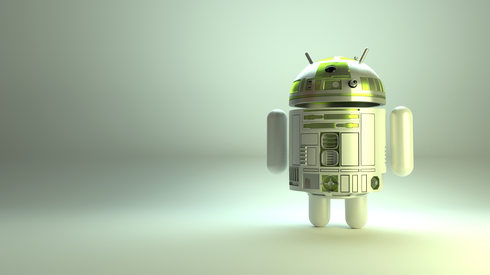 … Android Robot, R2-D2 Style by ILikePixels
